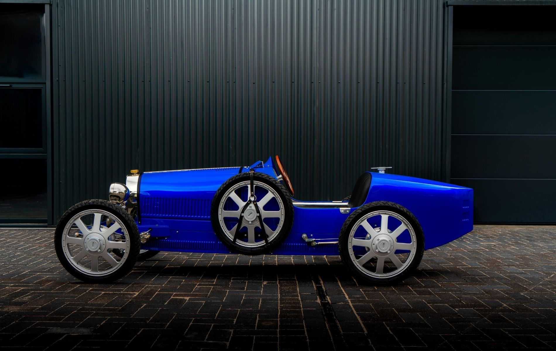 The Bugatti Baby II in default French Racing Blue
