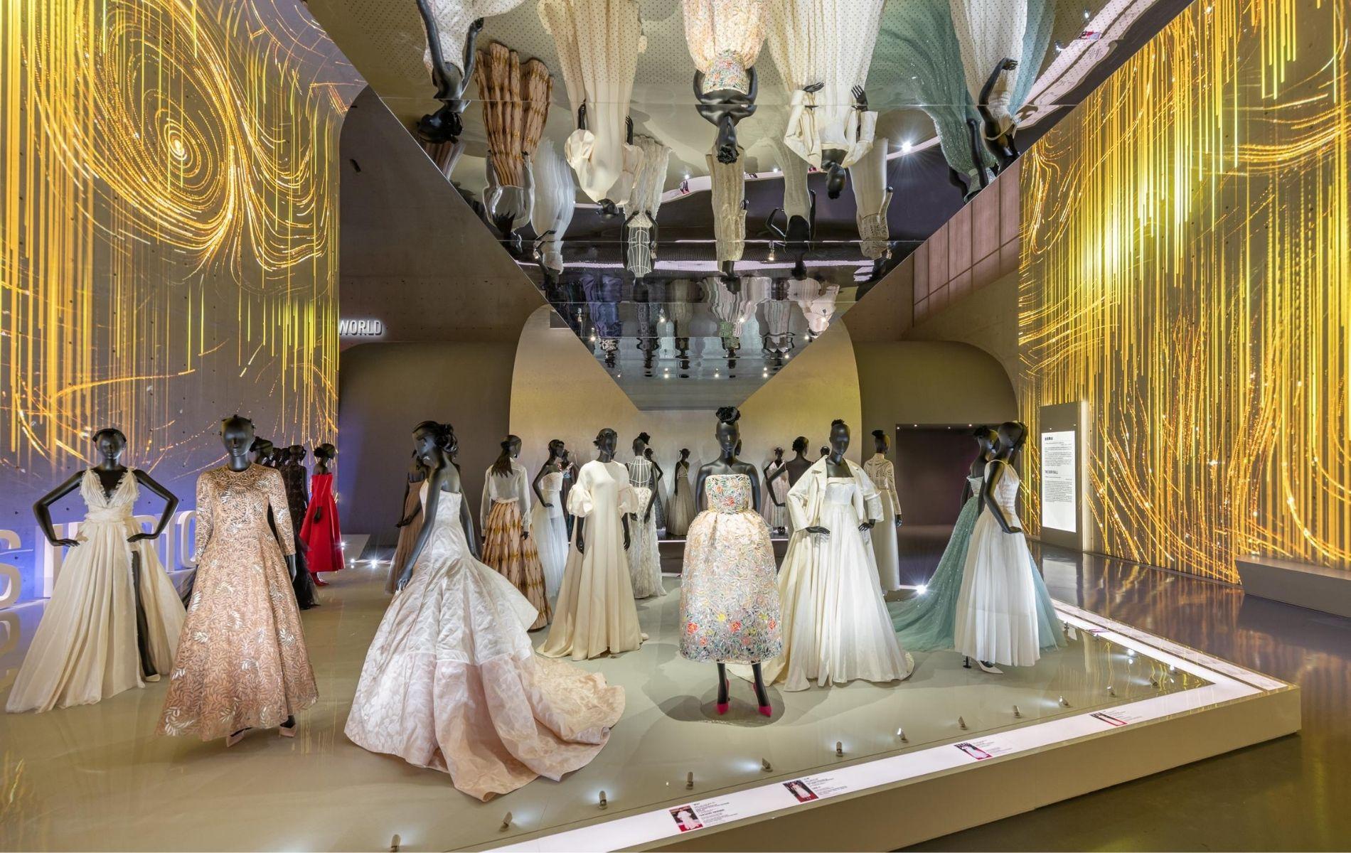 Inside the Christian Dior: Designer of Dreams exhibition