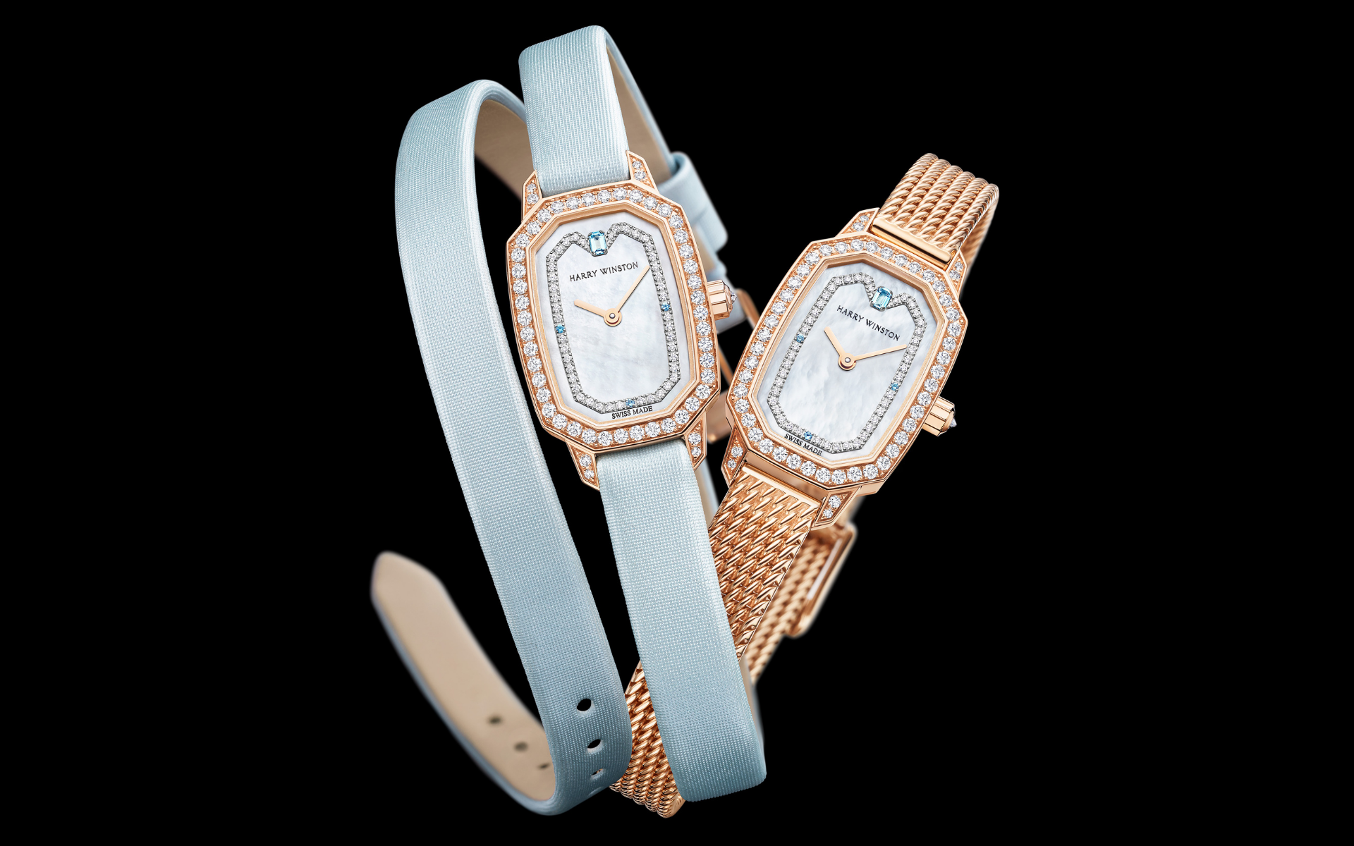 Harry Winston Presents Sophistication & Strength In The Emerald Collection