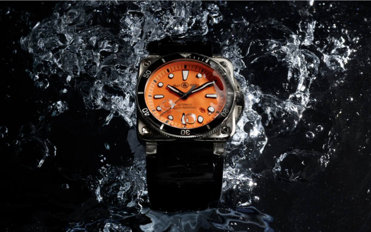 Bell & Ross Debuts The Striking BR 03-92 Diver Orange