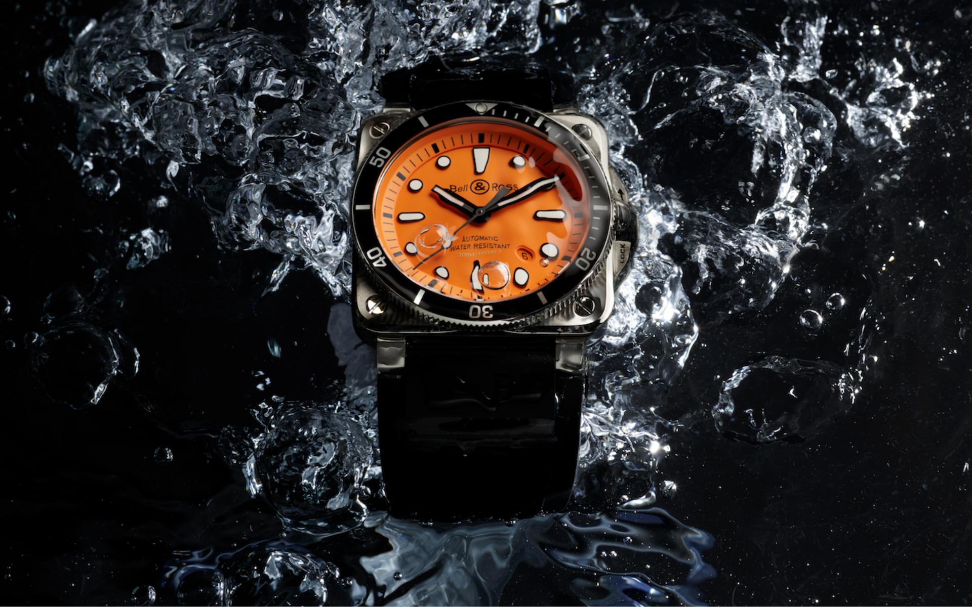 Bell & Ross Debuts The Striking BR 03-92 Diver Orange