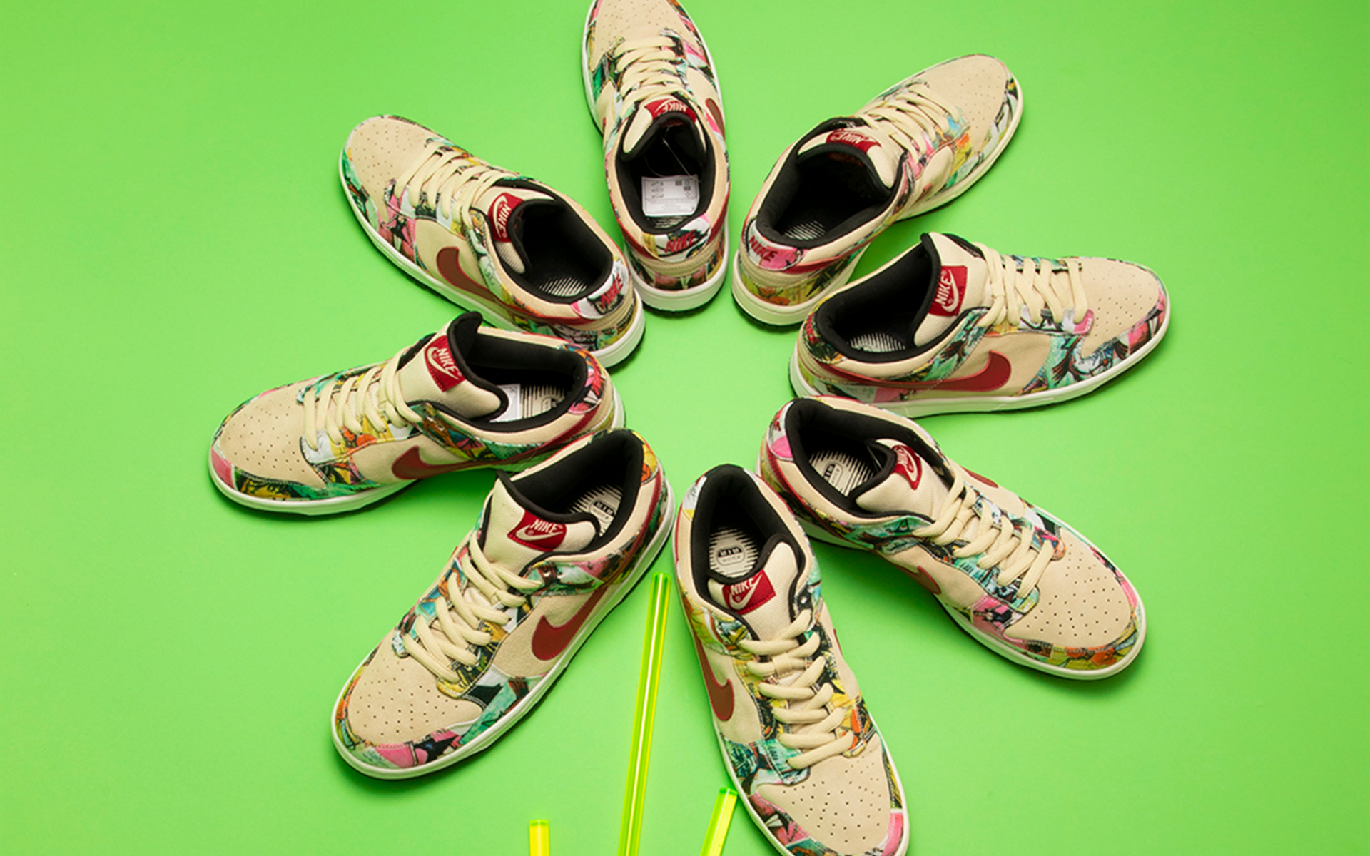 Ultra-Rare Artist-Designed Nike Sneakers On Auction At Sotheby's