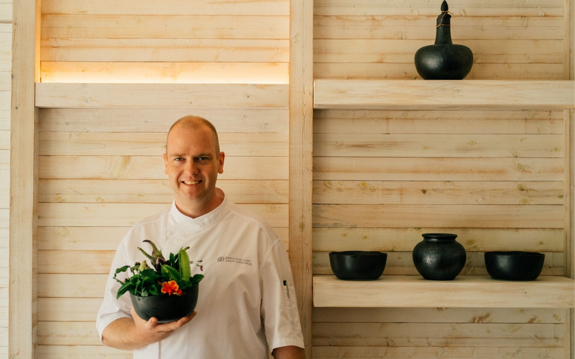 Executive chef David Dahlhaus