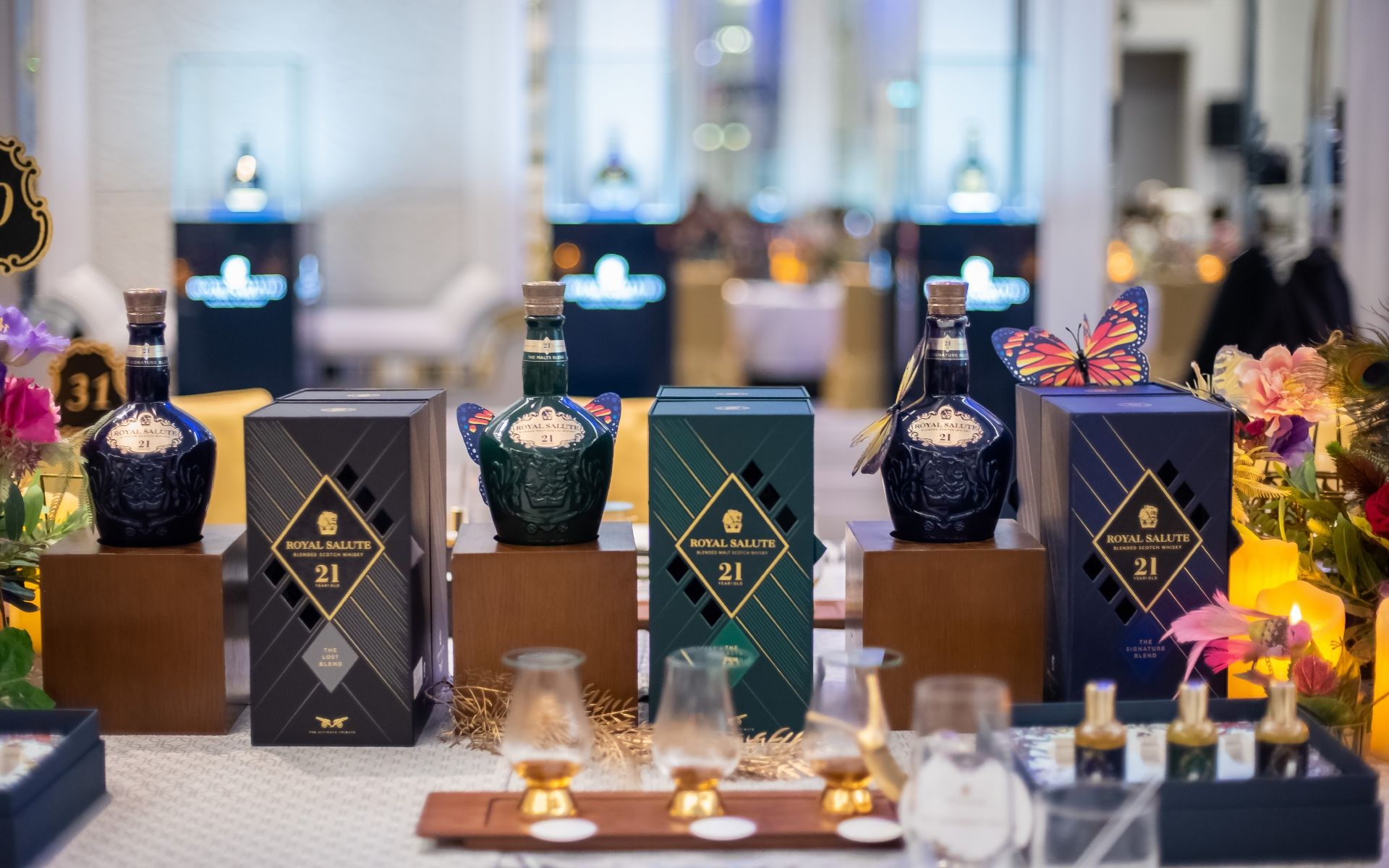 Pair Rare Royal Salute Whiskies With Fine Food & Perfumes At The Olfactory Studio Experience