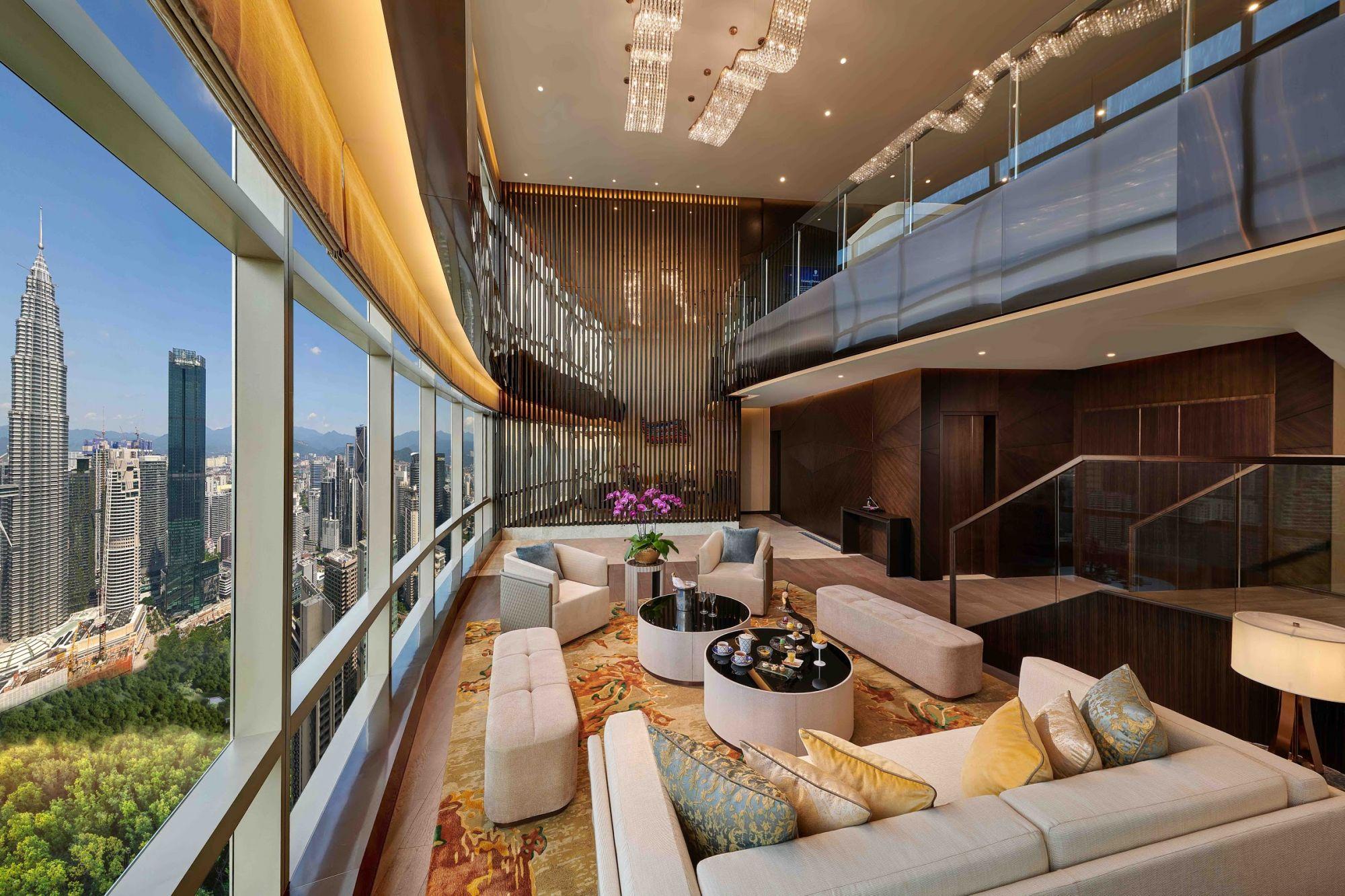 Banyan Tree Suite Living Hall