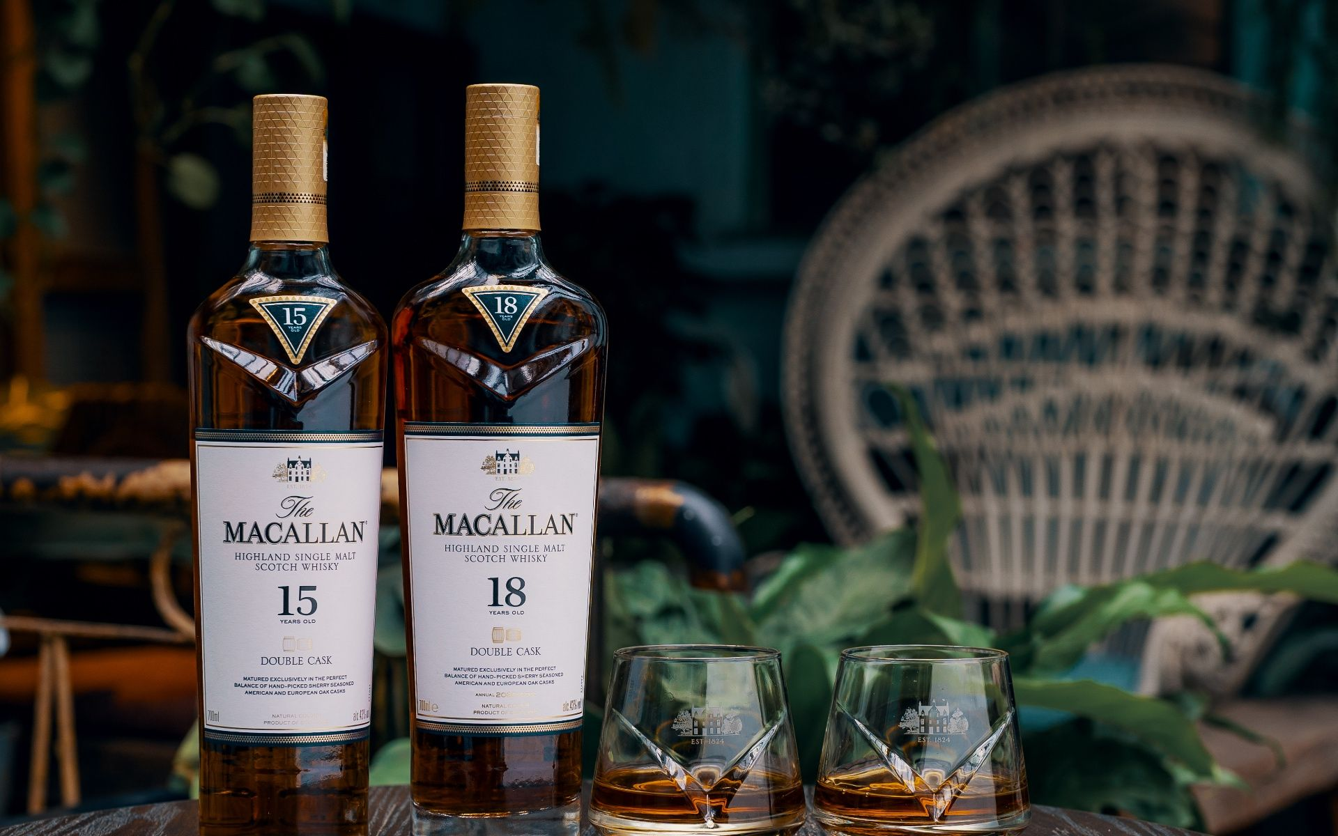 The Macallan Double Cask 15 & 18 Years Old Are A Collector's Dream