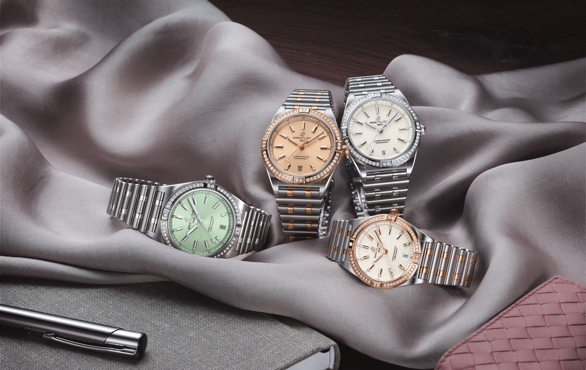 Why Charlize Theron Calls The New Breilting Chronomat Watch Stunning