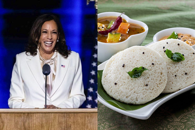 "US Vice President-Elect Kamala Harris' favourite food is idli ""with a really good sambar""."