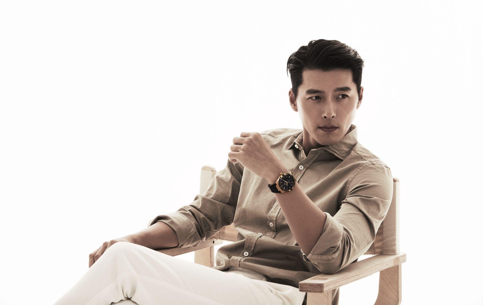 Hyun Bin, Star of Hit K-Drama Crash Landing on You, is Omega's Newest Ambassador