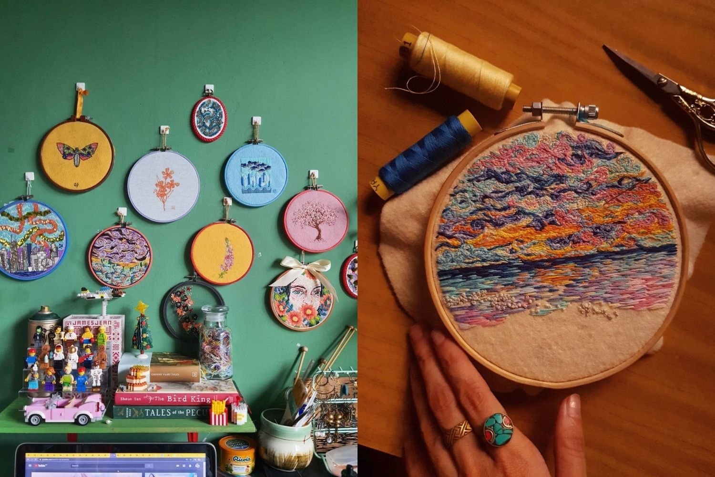 Artist Venice Foo Spreads Cheer With Her Needle & Thread