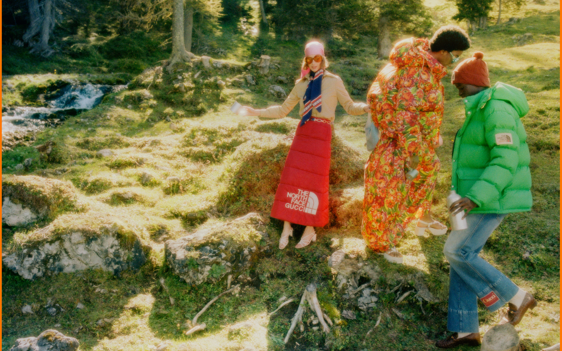 Gucci Ventures Into The Great Outdoors With The North Face