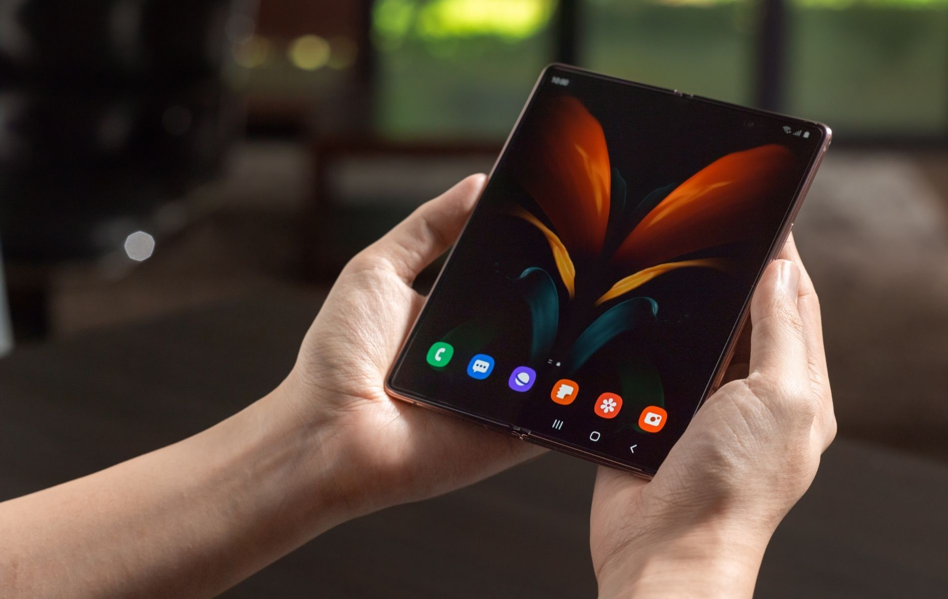 Watch: Samsung Galaxy Z Fold2 5G Makes The Work-From-Hotel Experience Easy And Convenient