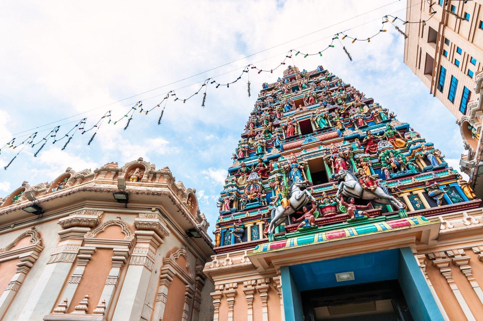 Sri Mahamariamman Temple in Kuala Lumpur. (Photo: Ravindran John Smith/iStock)