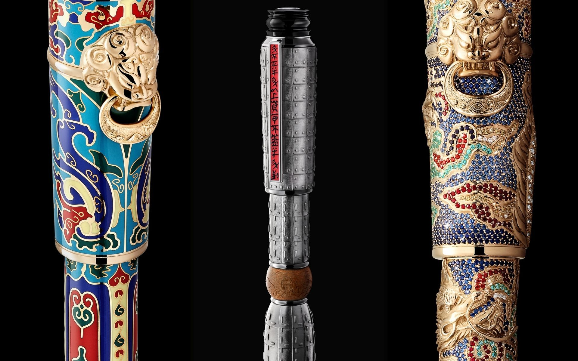 3 Montblanc Luxury Pens Inspired By The Great Wall Of China