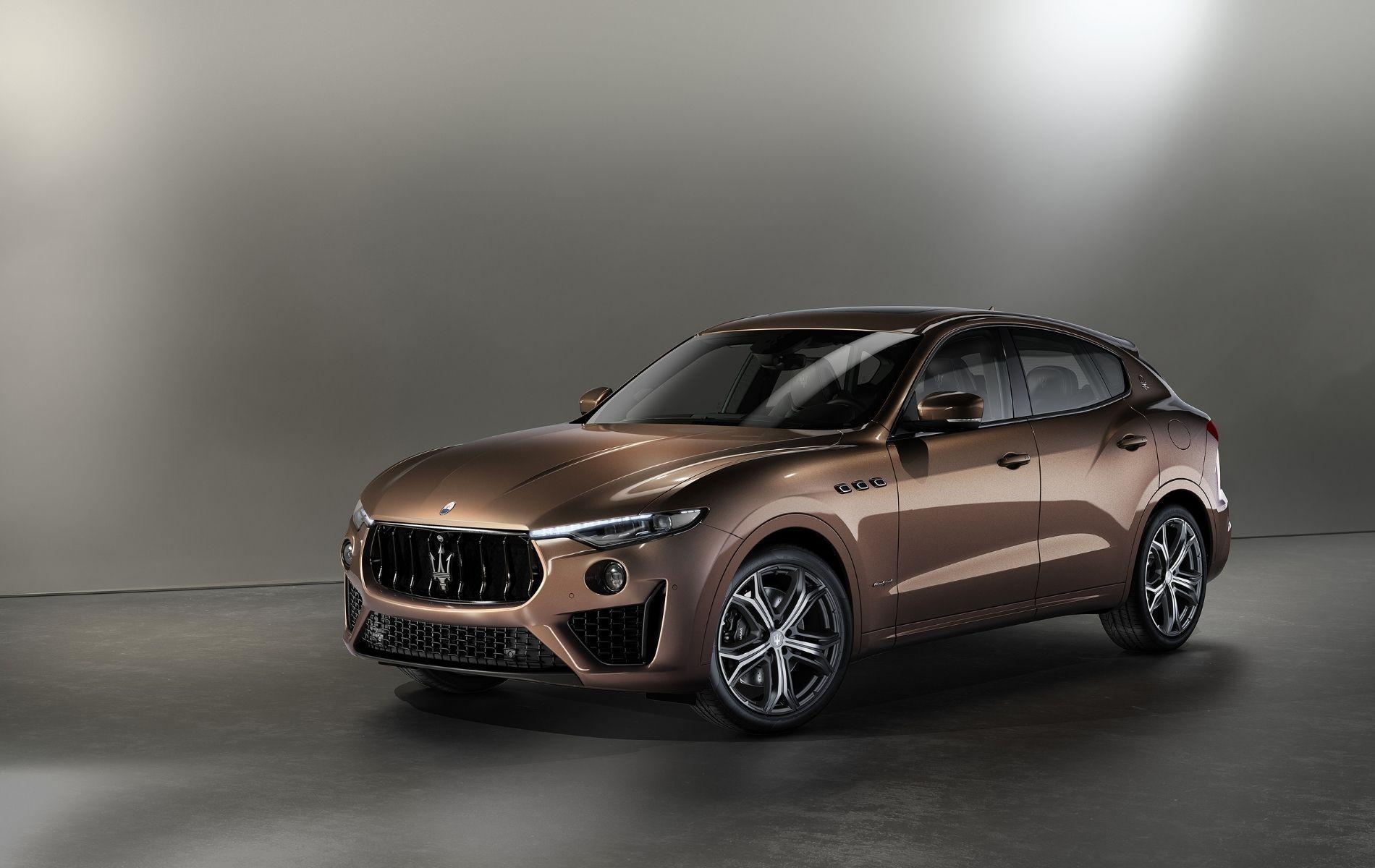 Ermenegildo Zegna Outfitted The Interior Of The Maserati Levante S GranSport SUV