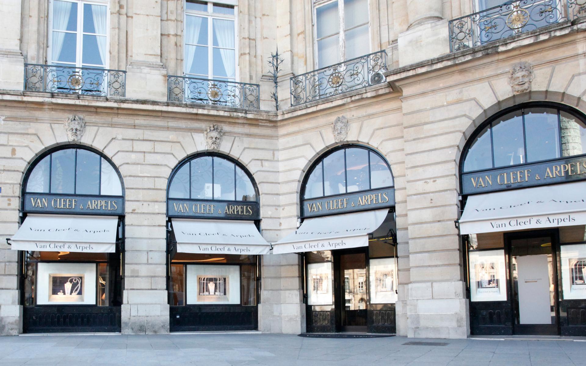 Van Cleef & Arpels' iconic boutique at 22 Place Vendôme
