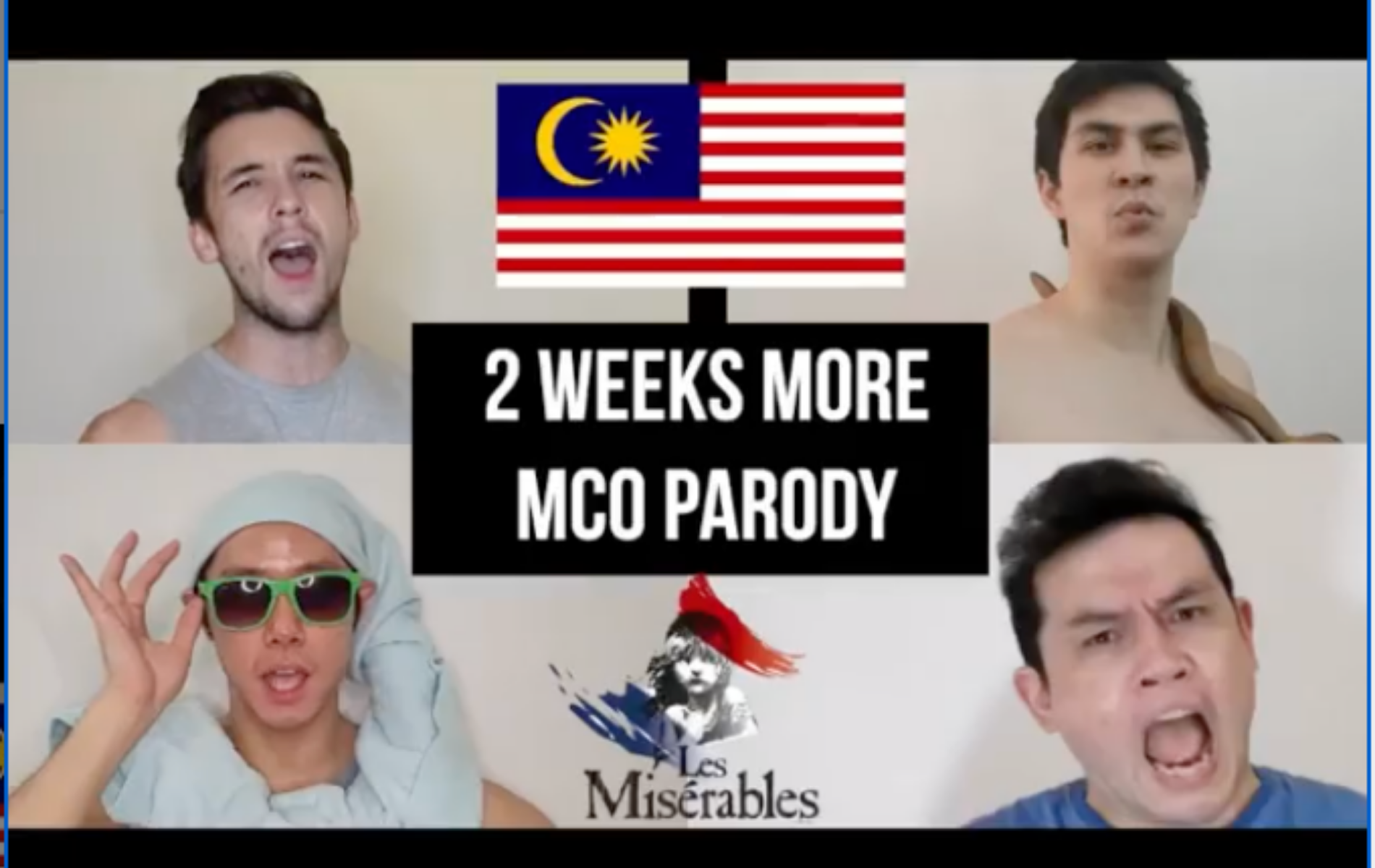 Watch Mark O'Dea & Friends Perform A Musical Parody To Lift Our Spirits During MCO 2.0