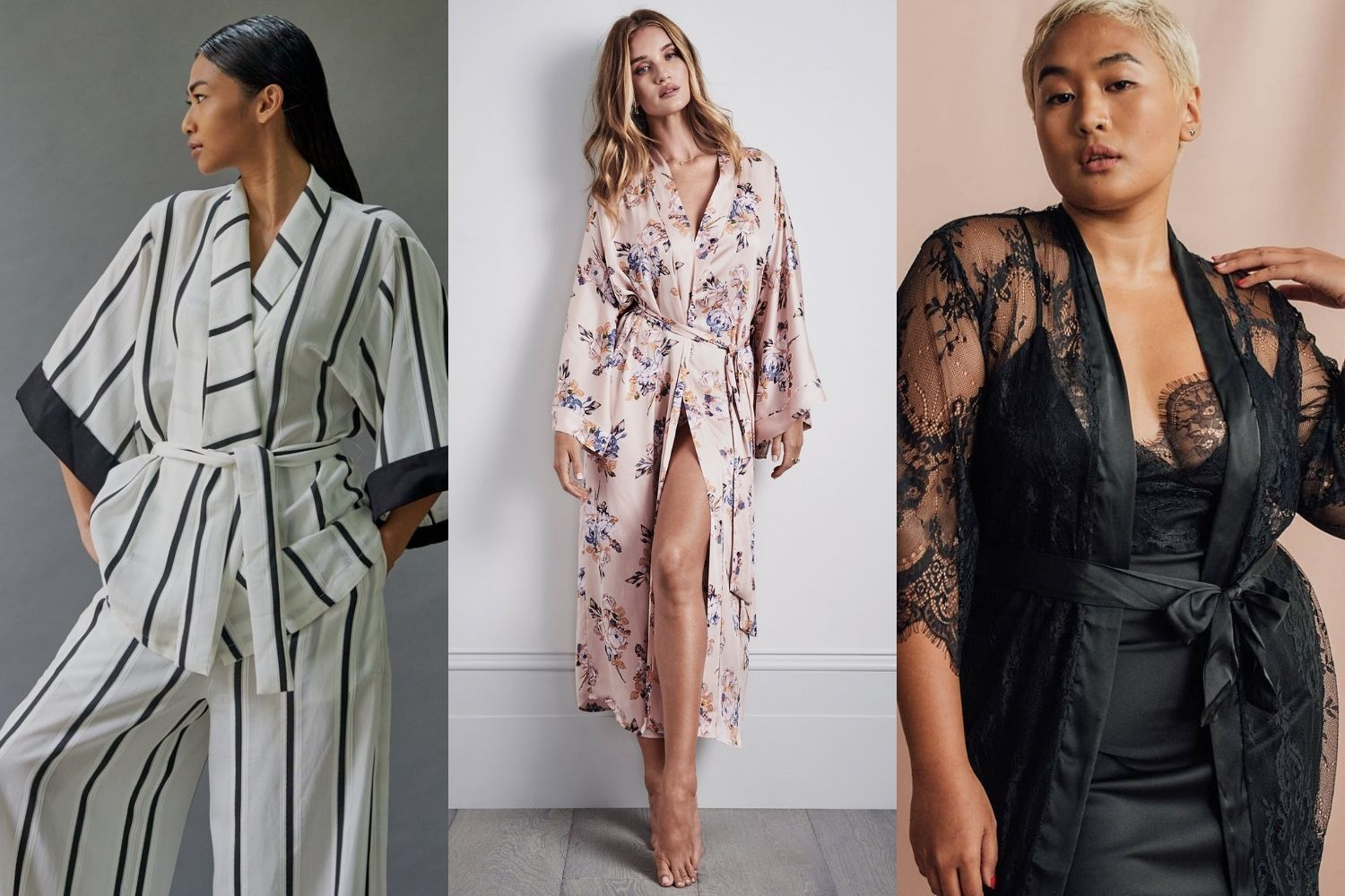 Luxurious dressing gowns for fashion-forward ladies