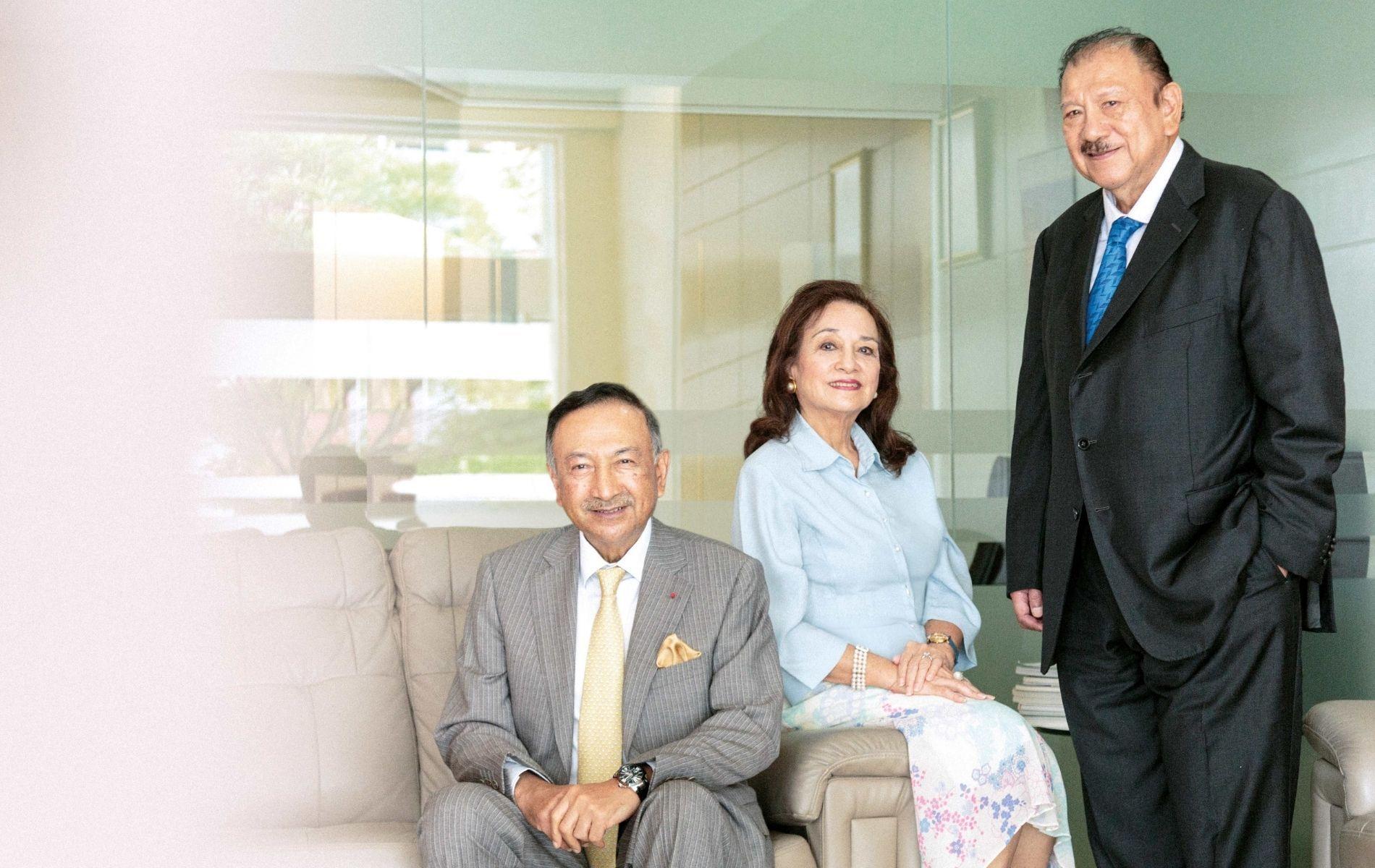 Tunku Dato' Seri Utama Naquiyuddin, Tunku Dara Tunku Tan Sri Naquiah and Tunku Tan Sri Imran