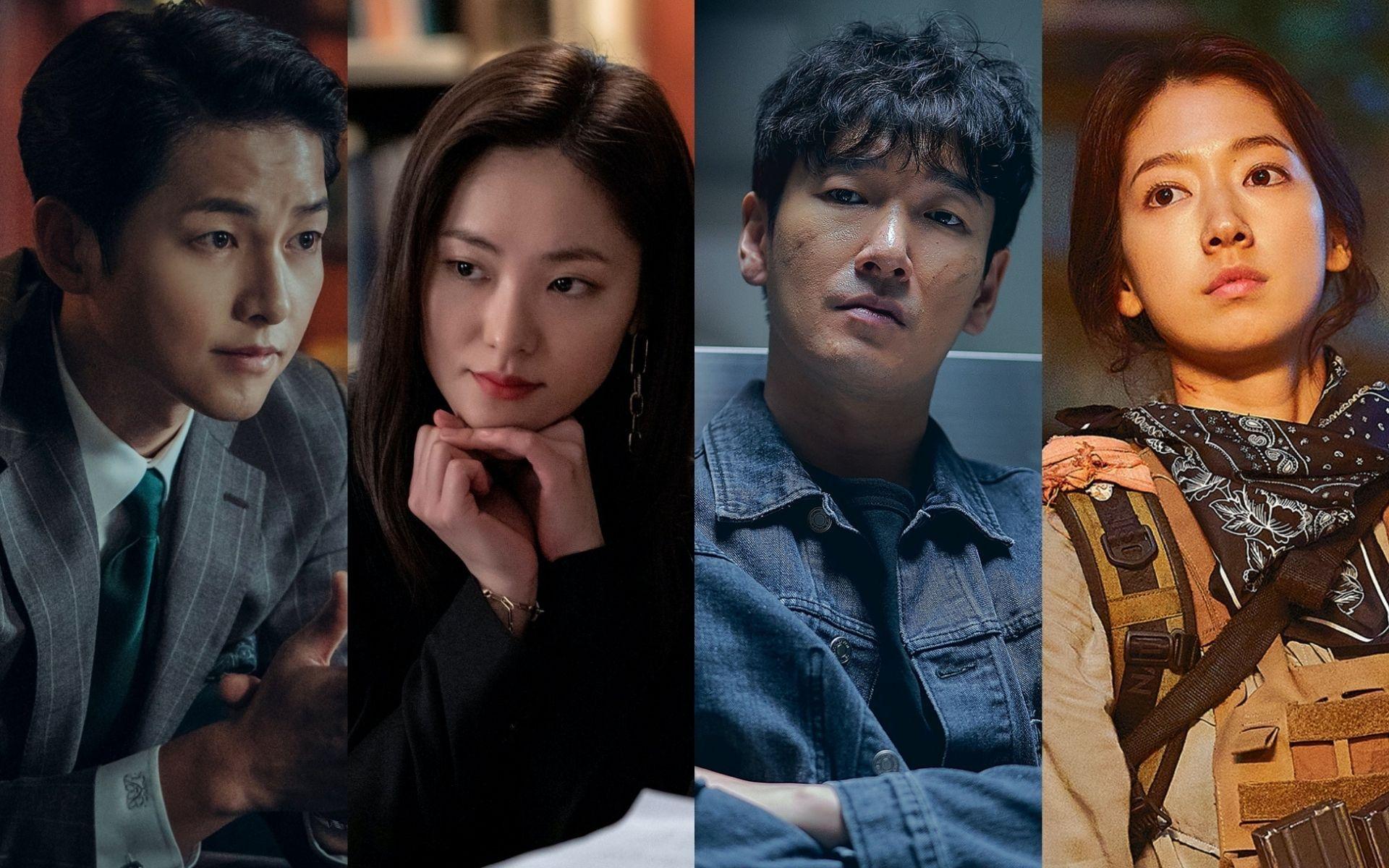 Song Joong-ki, Jeon Yeo-been, Cho Seung-woo and Park Shin-hye