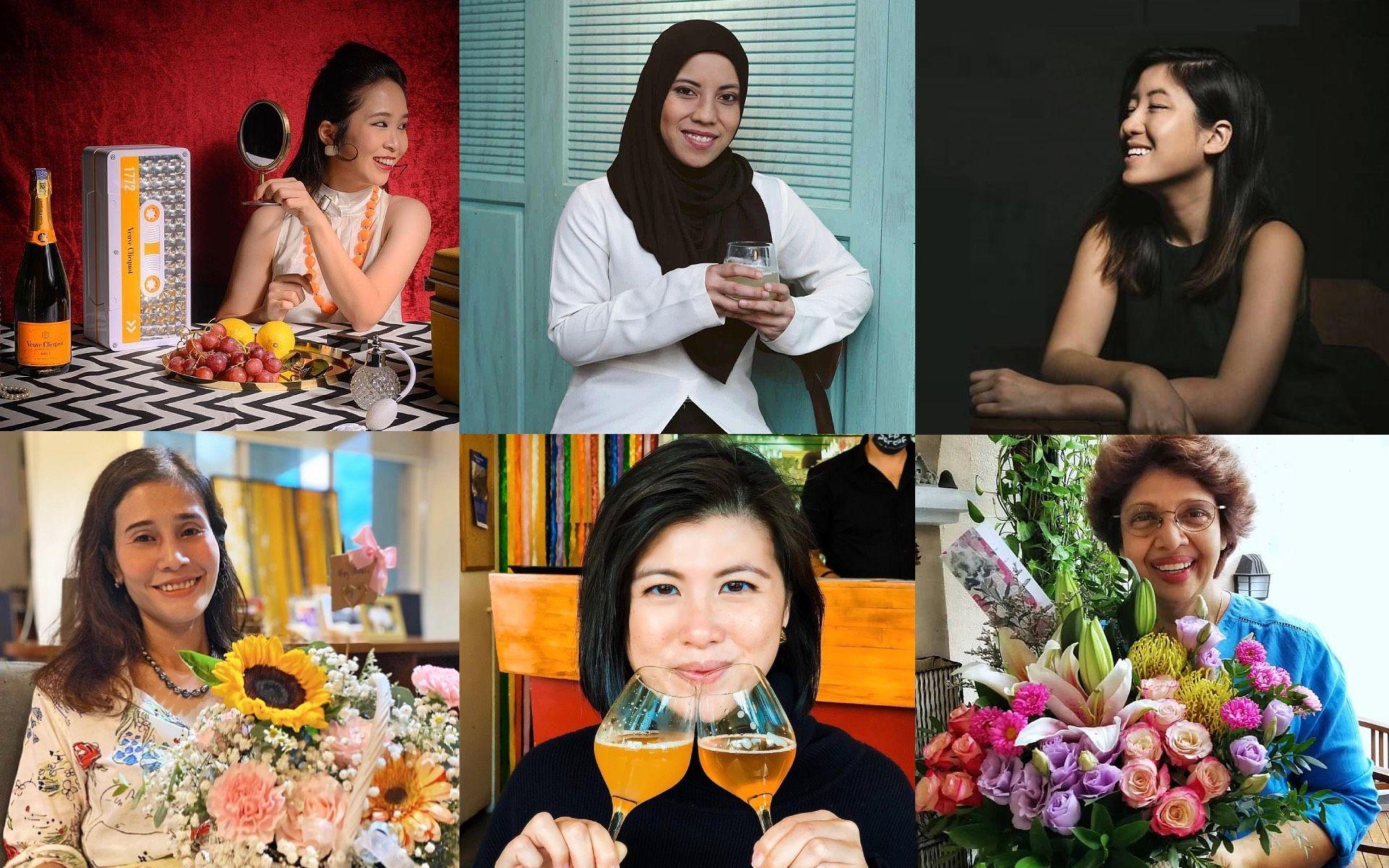 Clockwise from top left: @ euniceeunny, @zeehanzahari, @trishates, @chefmelbanunis, @3iling and @sitikader
