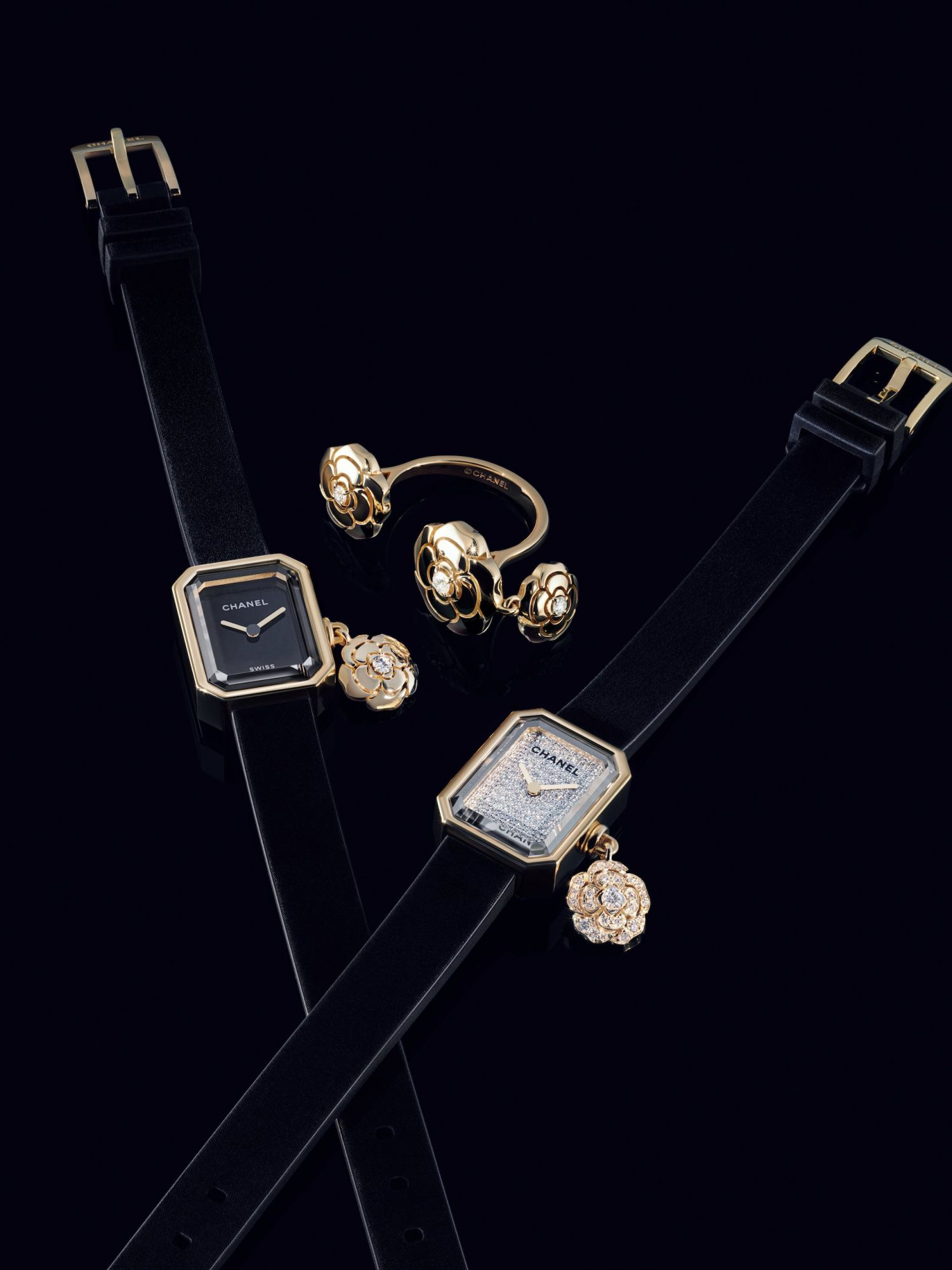 Chanel's New Extrait De Camélia Watch is Inspired by a Special Motif