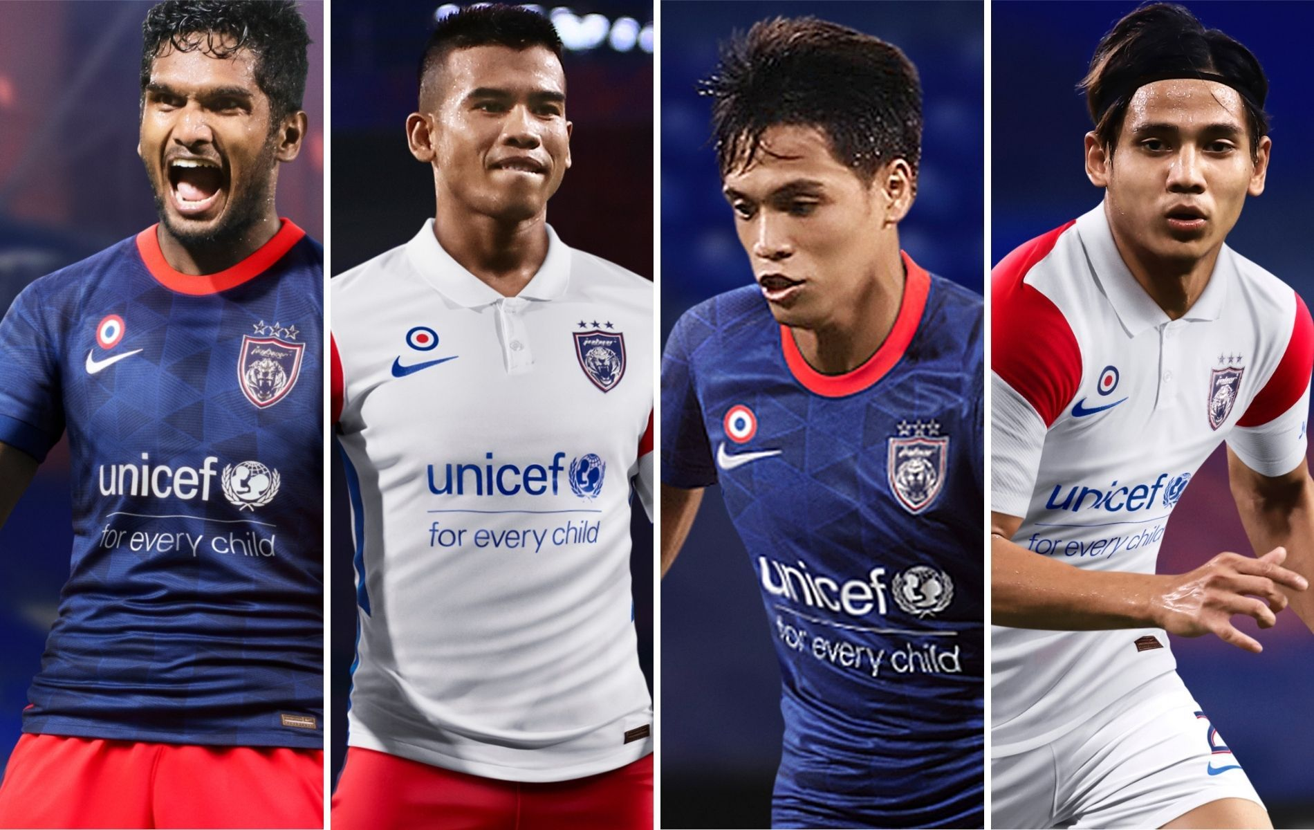 Nike Unveils New Johor Darul Ta'zim FC Football Team Kits