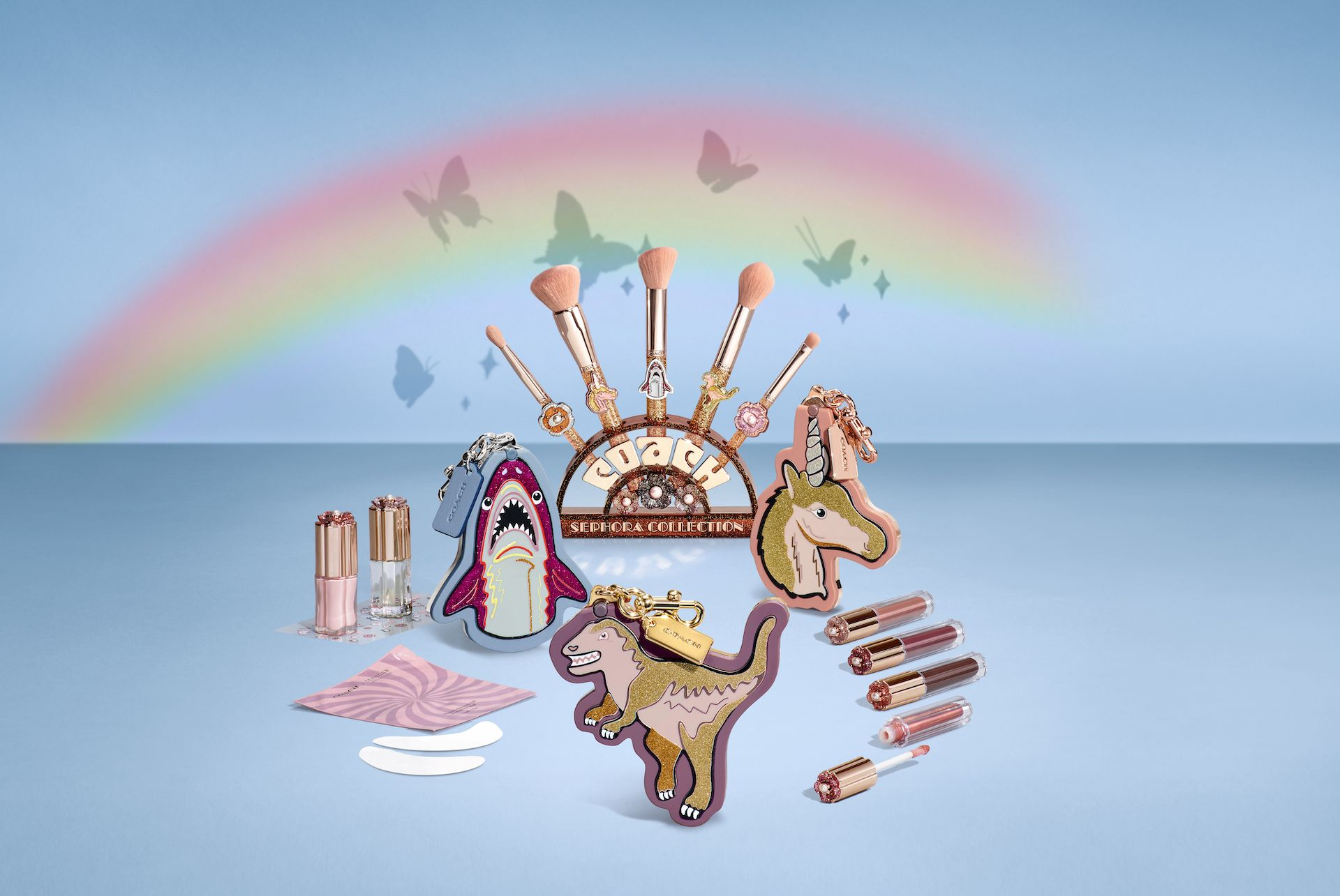 Coach x Sephora's Make-Up Collection Is A Playful Take On Beauty