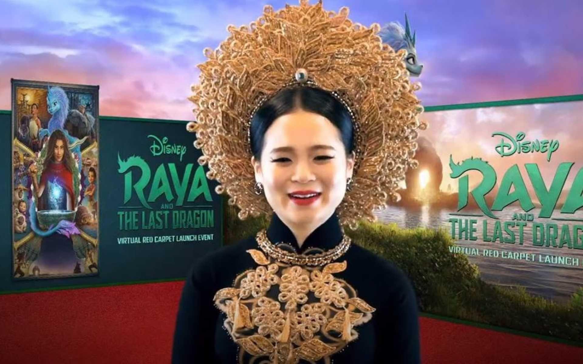 Disney Raya And The Last Dragon Kelly Marie Tran Virtual Red Carpet