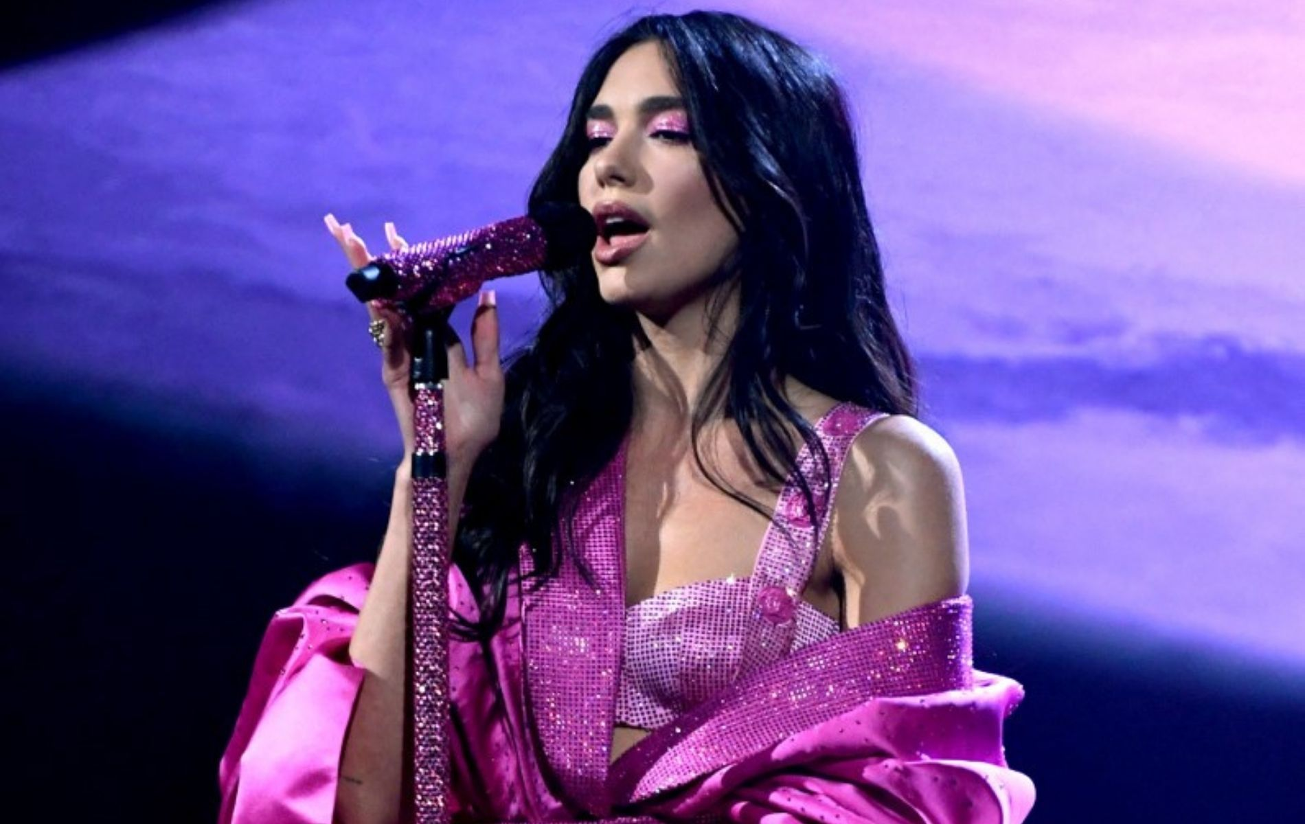 Dua Lipa performing at the Grammys 2021 (AFP Photo / Kevin Winter / The Recording Academy via Getty Images)