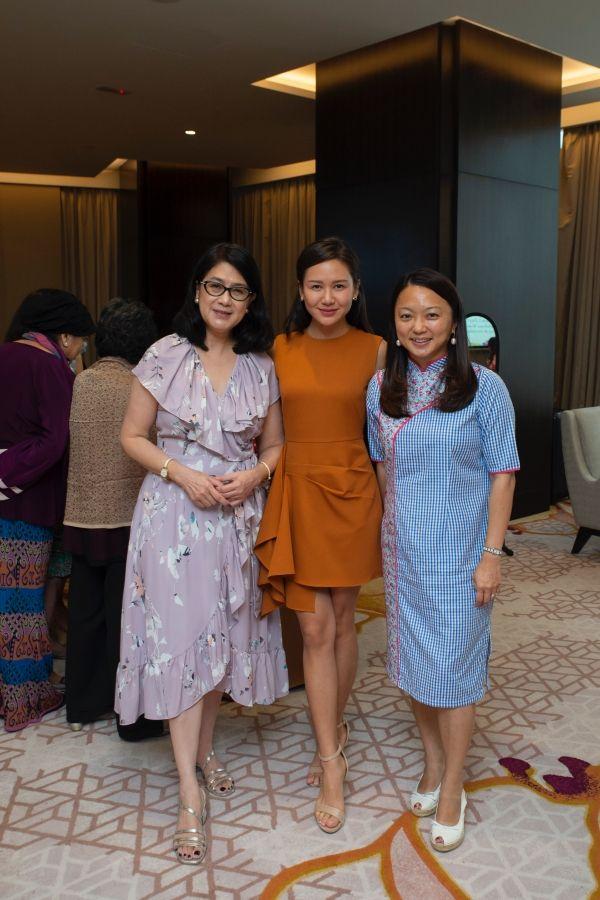 Soo Shea Pin, Trisha Kuck and Hannah Yeoh