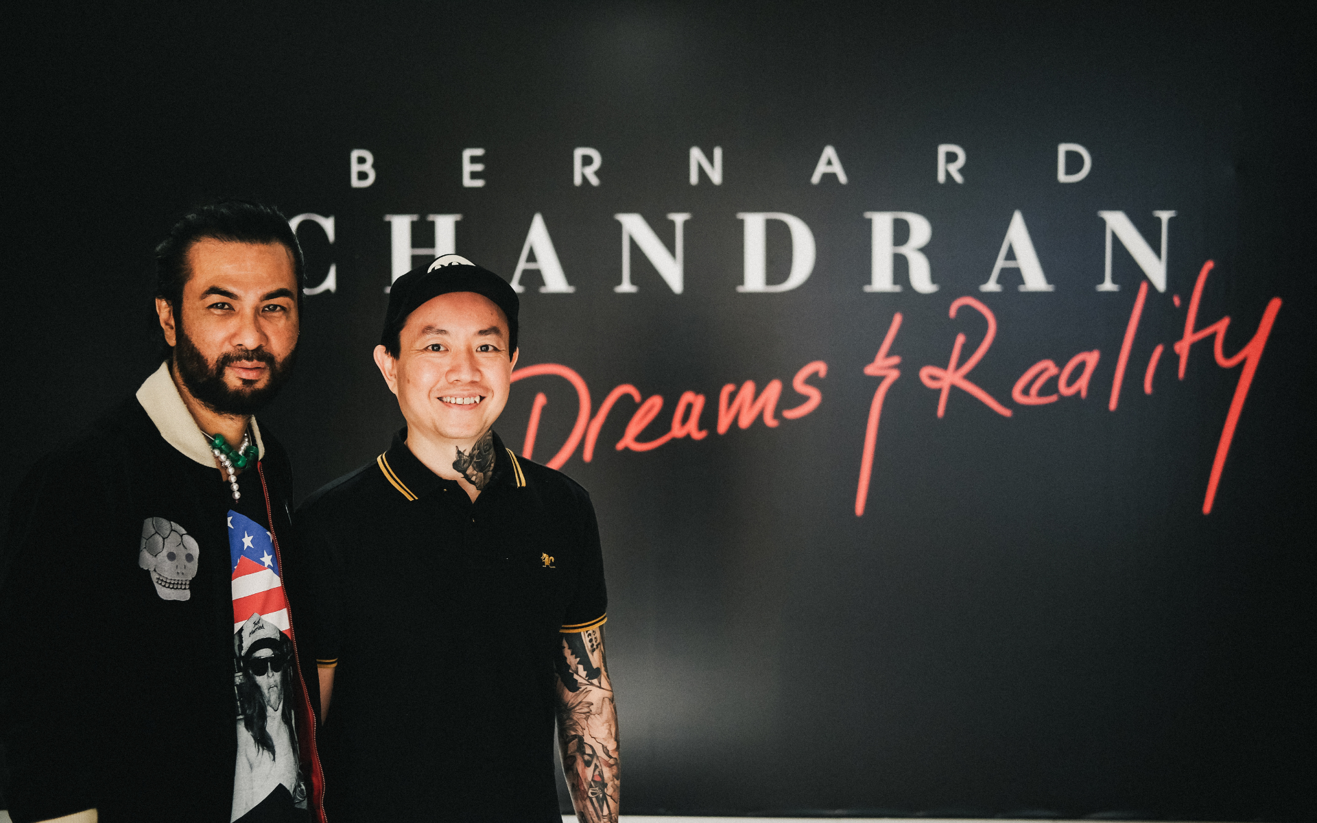 Bernard Chandran and Andrew Yap: The Story Behind The 'Dreams And Reality' Exhibition