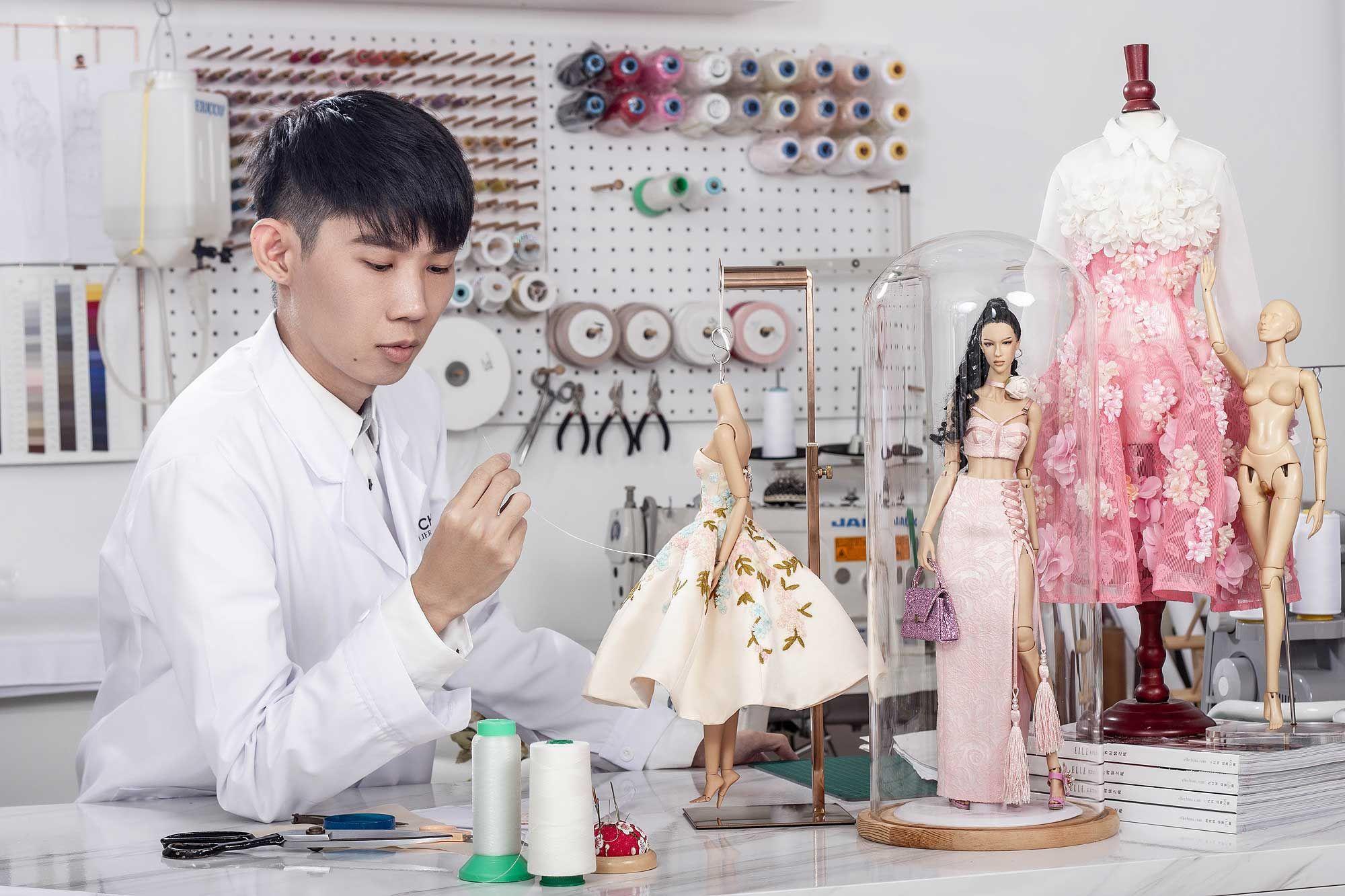 Meet Malaysian Fashion Designer Nigel Chia, Also Doll Maker Extraordinaire
