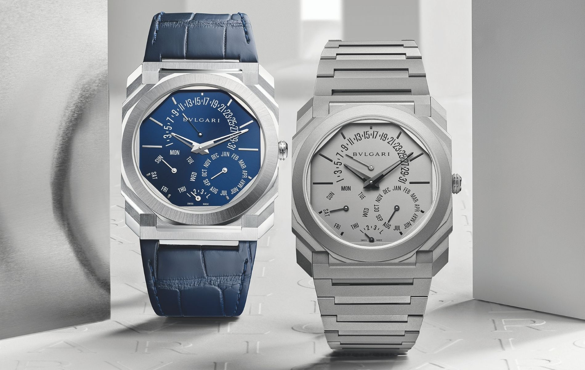 Bulgari Octo Finissimo Perpetual Calendar is the slimmest of its kind ever produced
