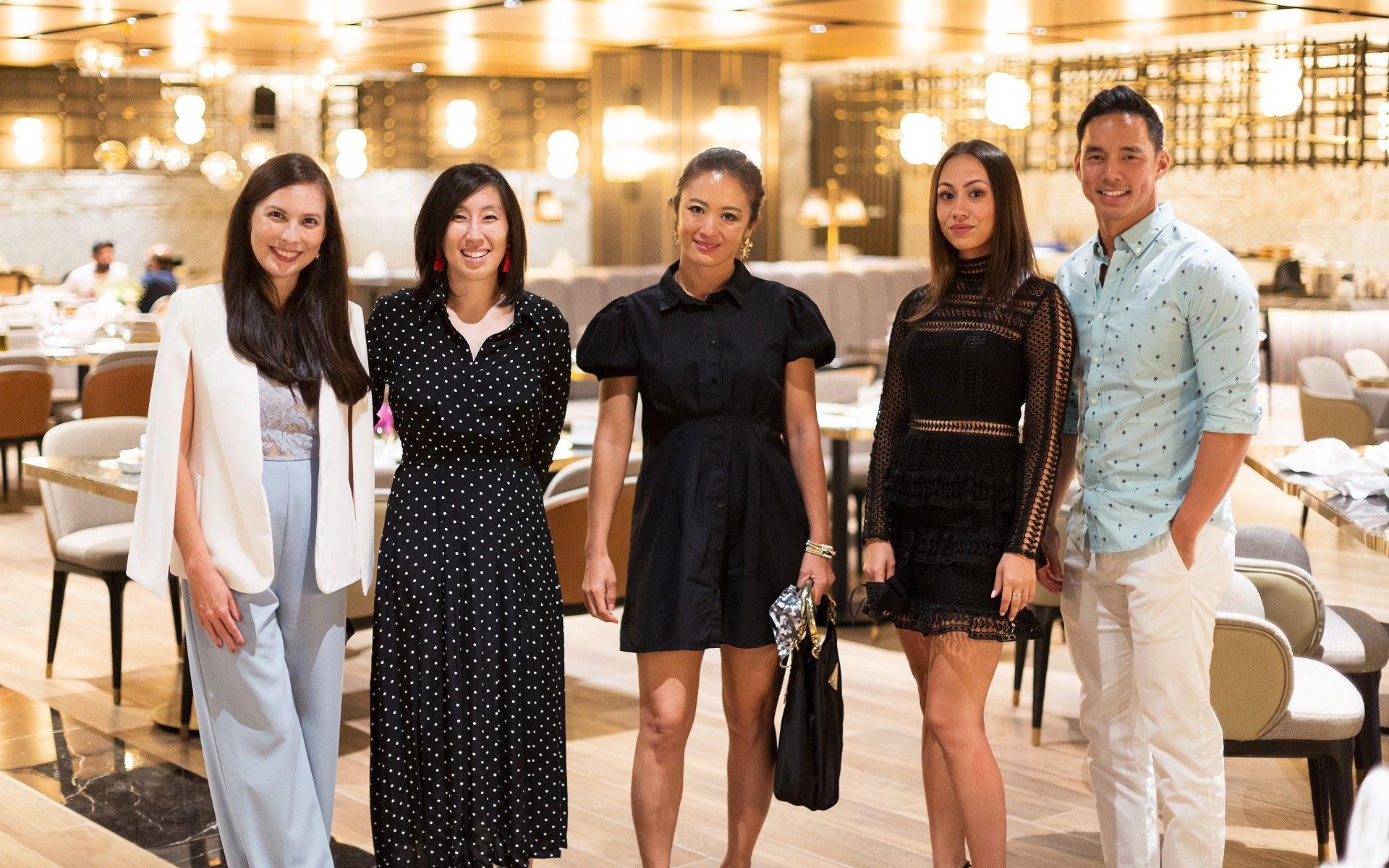 Geraldine Dreiser, Min Lim, Timmy Lim, Emilia Goh and Tan San Chuan