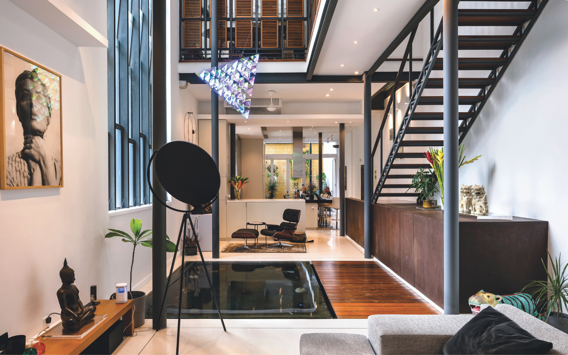 Unit One's cool revamp of one of Georgetown's heritage shophouses