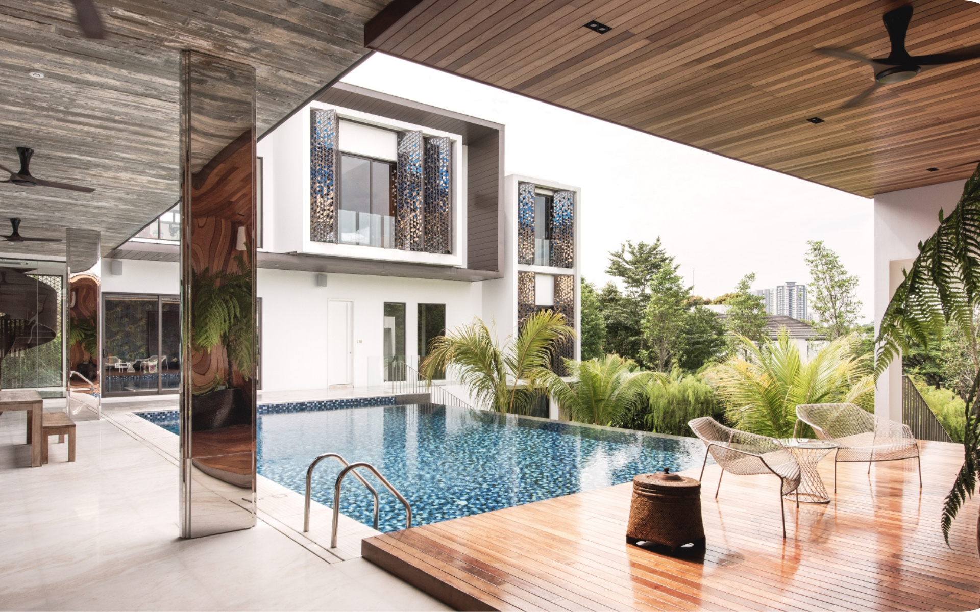 S/LAB 10's stunning Ledang Heights project in Johor embraces the great outdoors