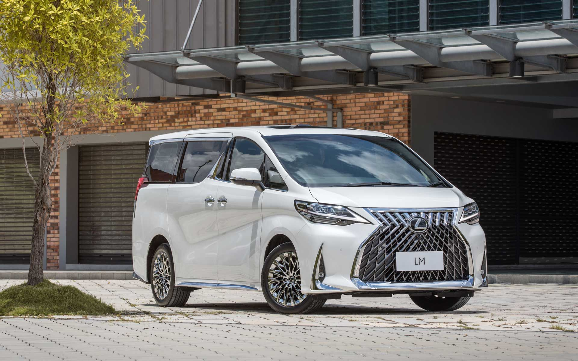 The Lexus LM 350 Luxury MPV Is A Business-Class Suite On Wheels