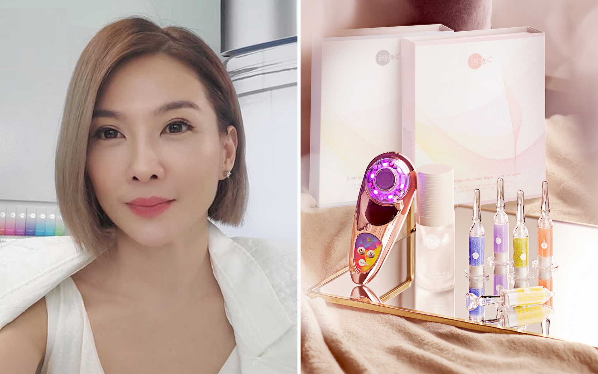 Founder of Skin Inc Shakes Up The Beauty Industry With Personalised Skincare
