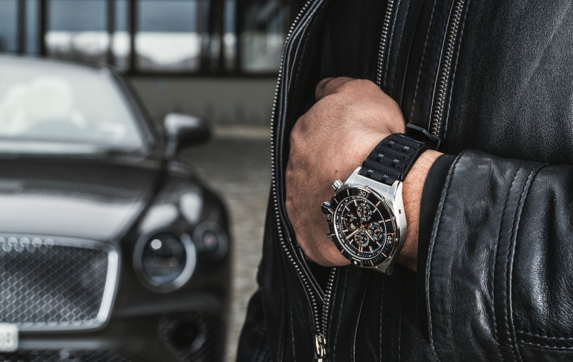 Breitling Super Chronomat Four-Year Calendar with black dial