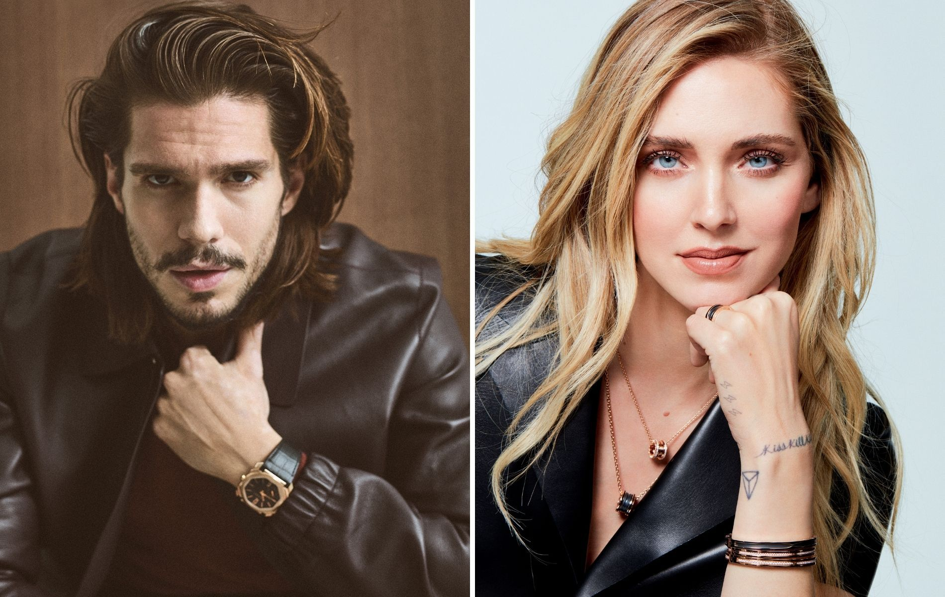 François Civil and Chiara Ferragni are the new Bulgari ambassadors