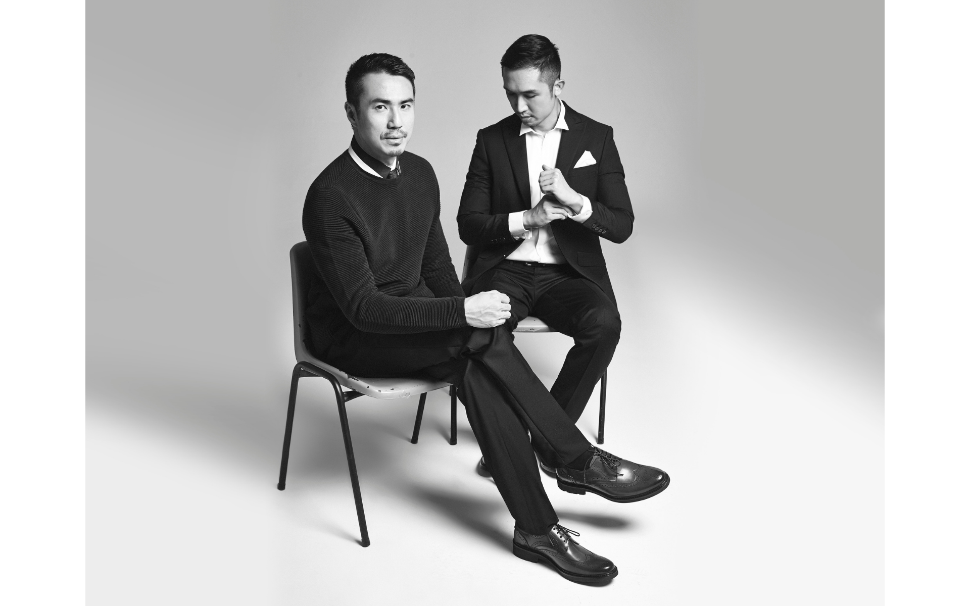 UnitedWood's Founders Voon Lai And Jonathan Cheng Make A Strong Fashion Statement
