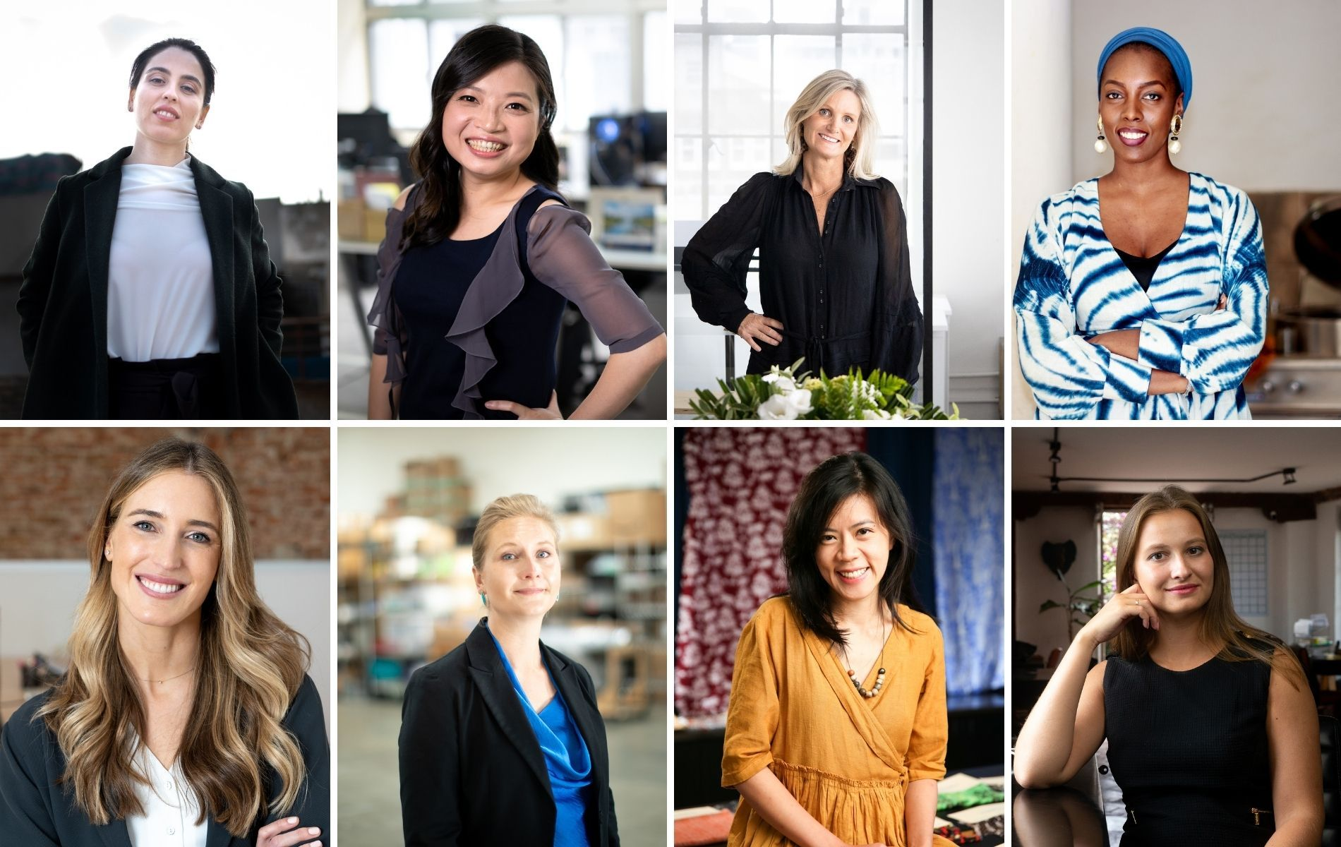 The 2021 laureates of Cartier Women's Initiative