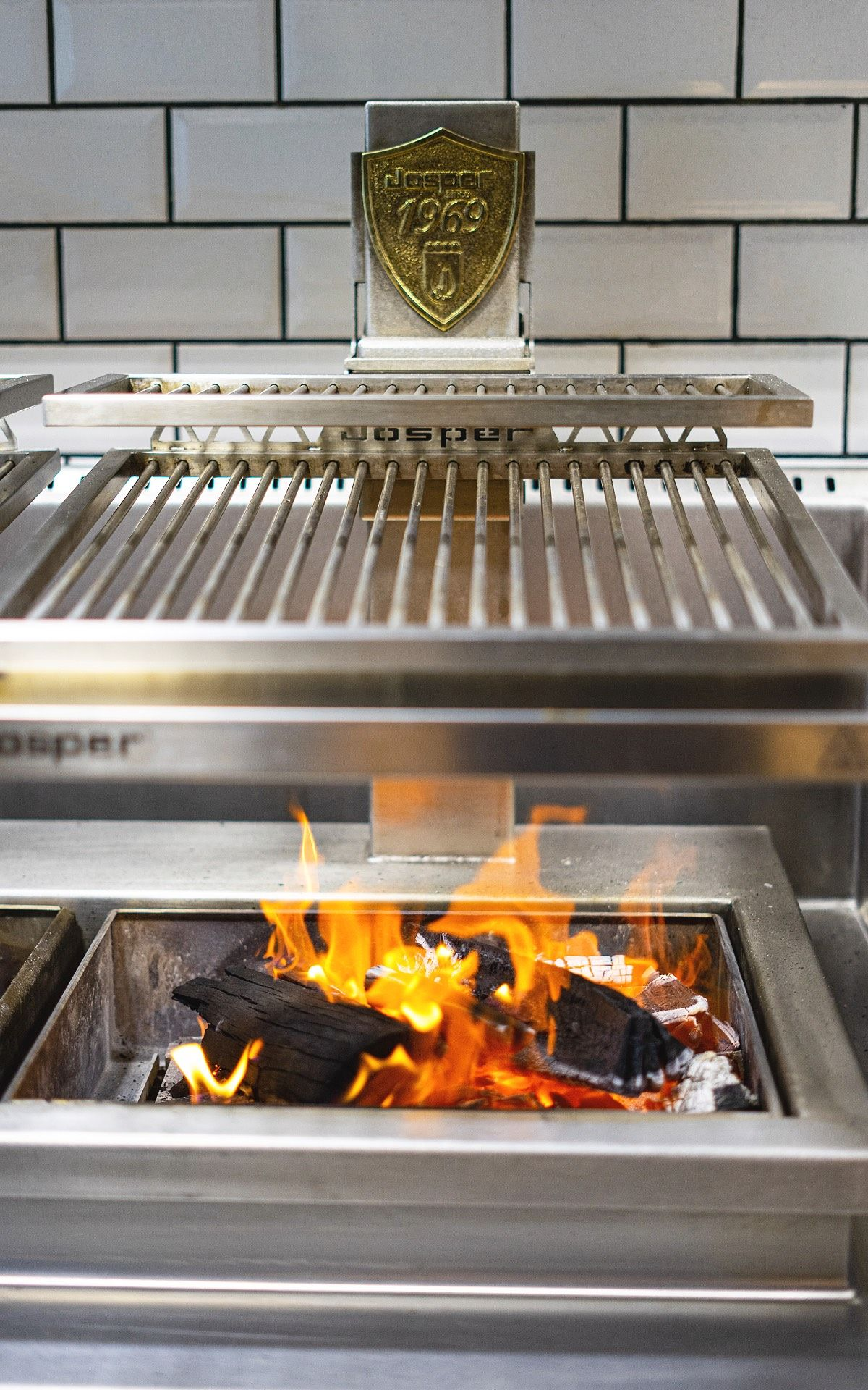 Invented in Barcelona in 1969, the Josper oven is every chef's dream toy (Photo: Park Grill)