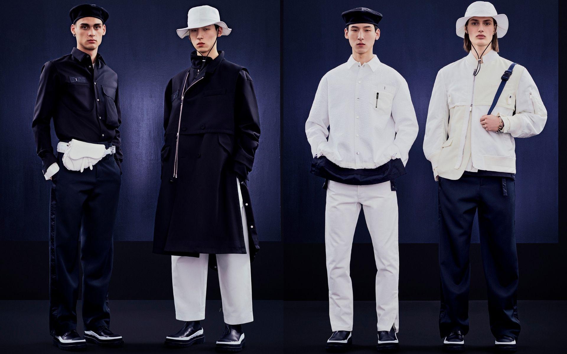 Dior Men Teams Up With Sacai For Spring 2022