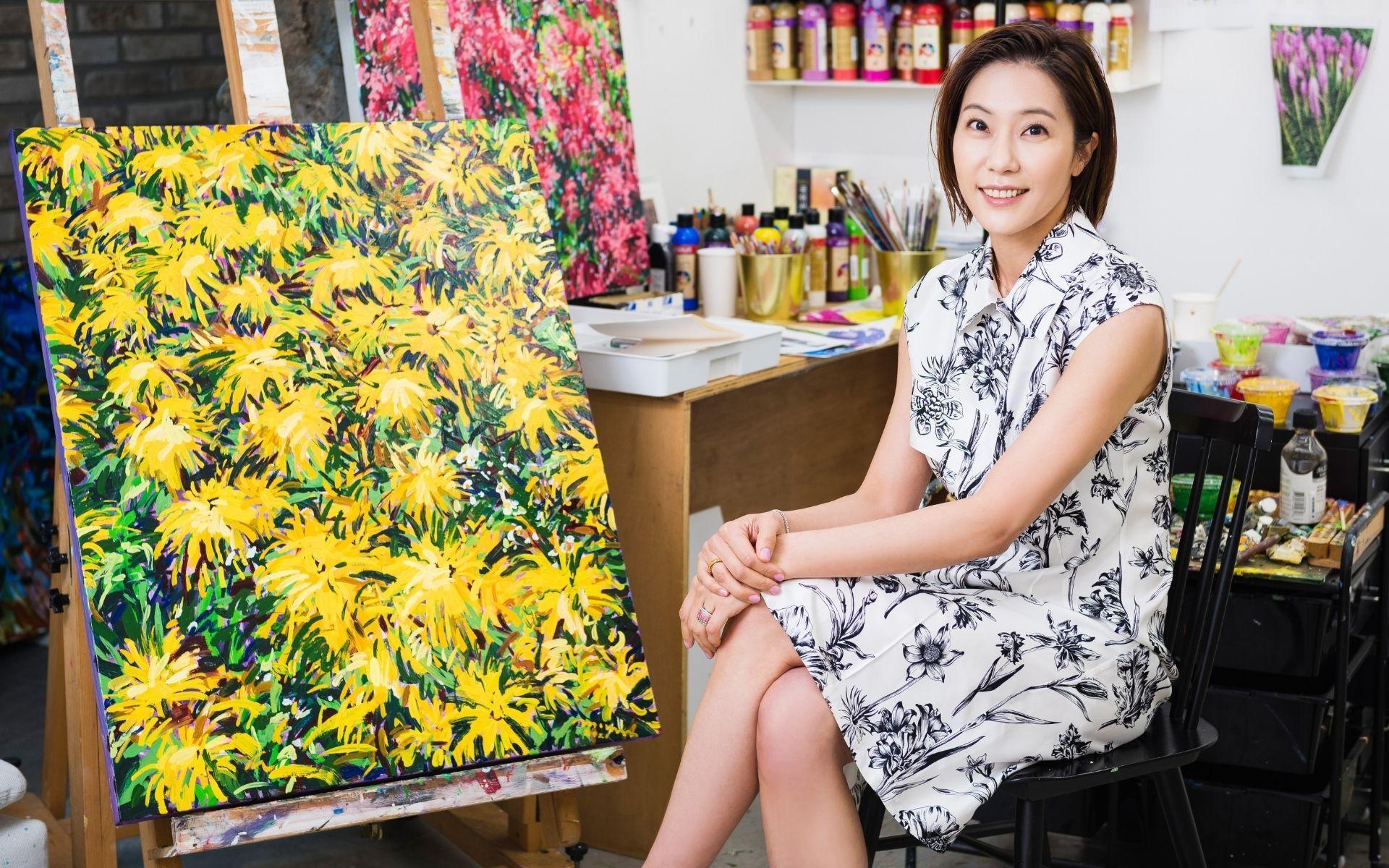 Salvatore Ferragamo Partners With Korean Artist Boree Hur On Tuscan Wildflowers Campaign