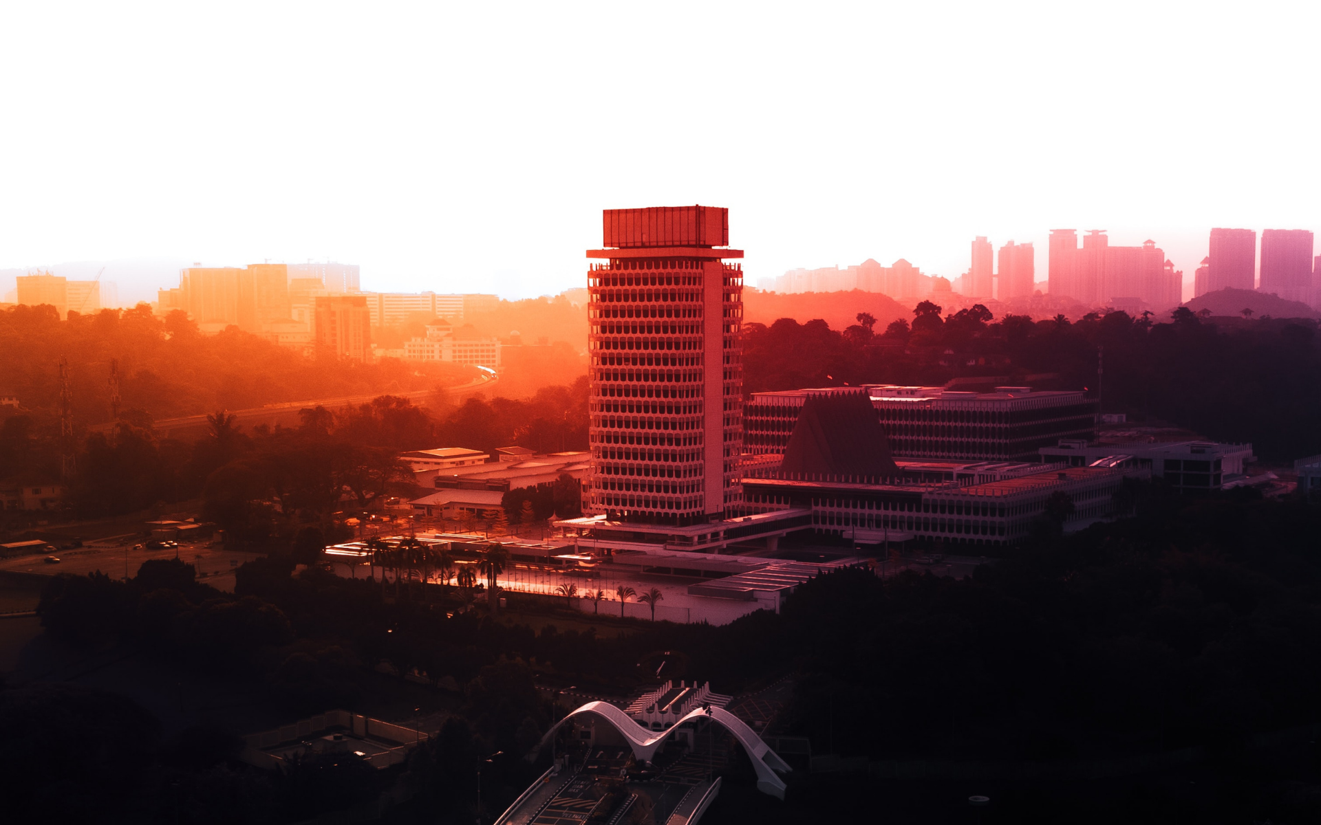 Malaysia's iconic Parliament Building