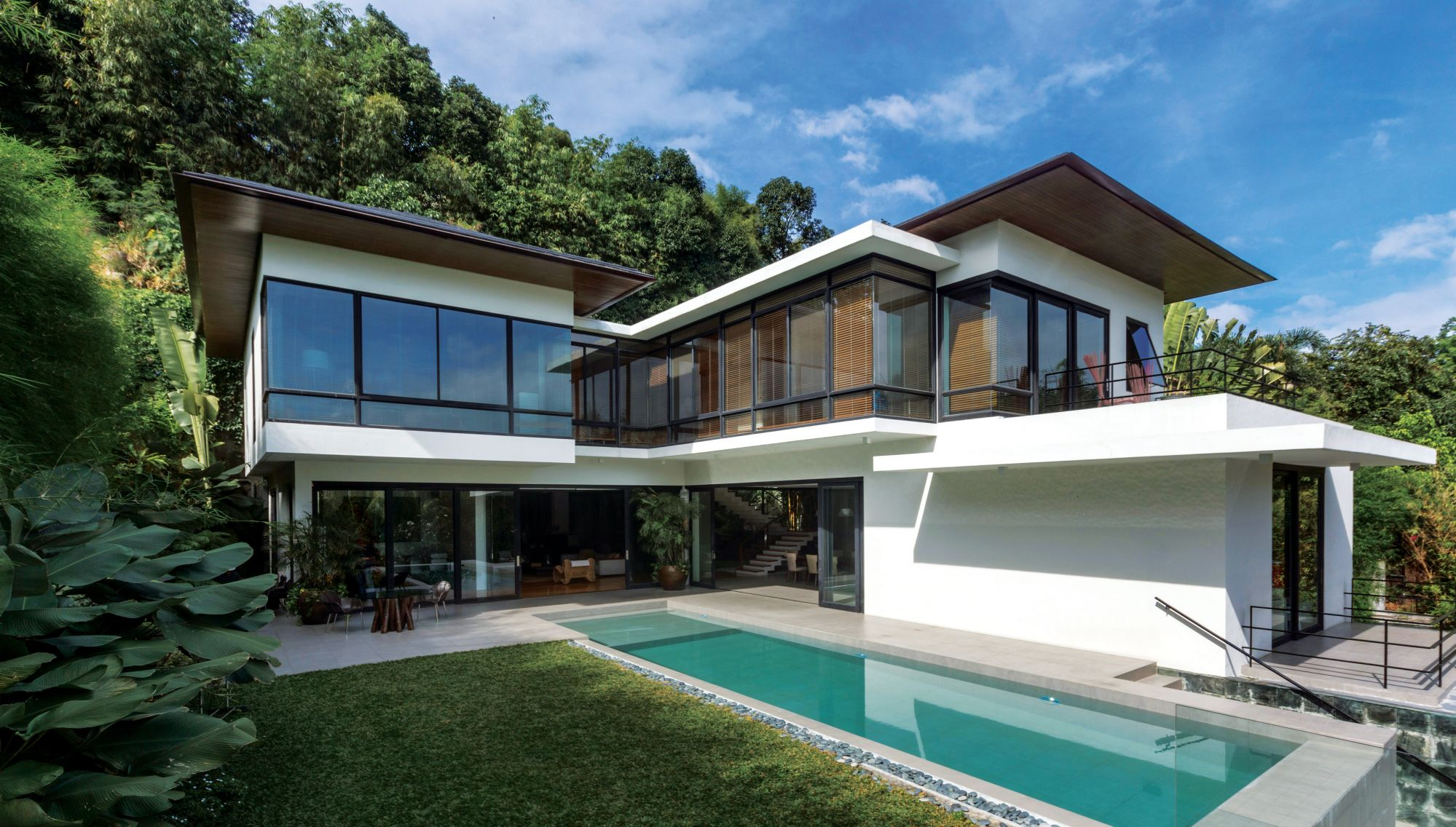 An Open Sanctuary A Modern Filipino Home Design By Budji