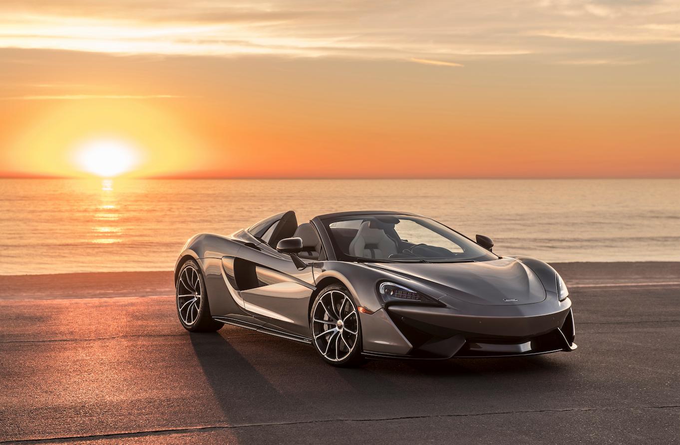 McLaren donates bespoke 570S to Elton John Aids Foundation