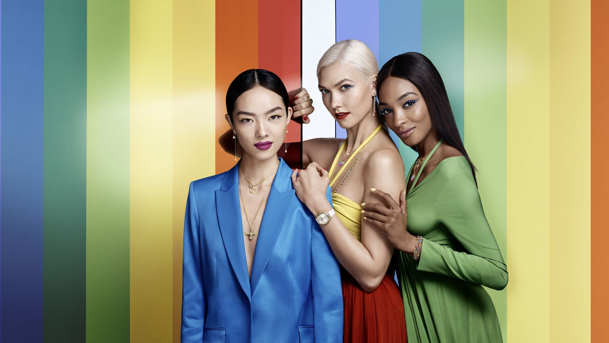 Rainbow Colours And Natural Themes Shine in the Swarovski Summer 2018 Jewellery Collection
